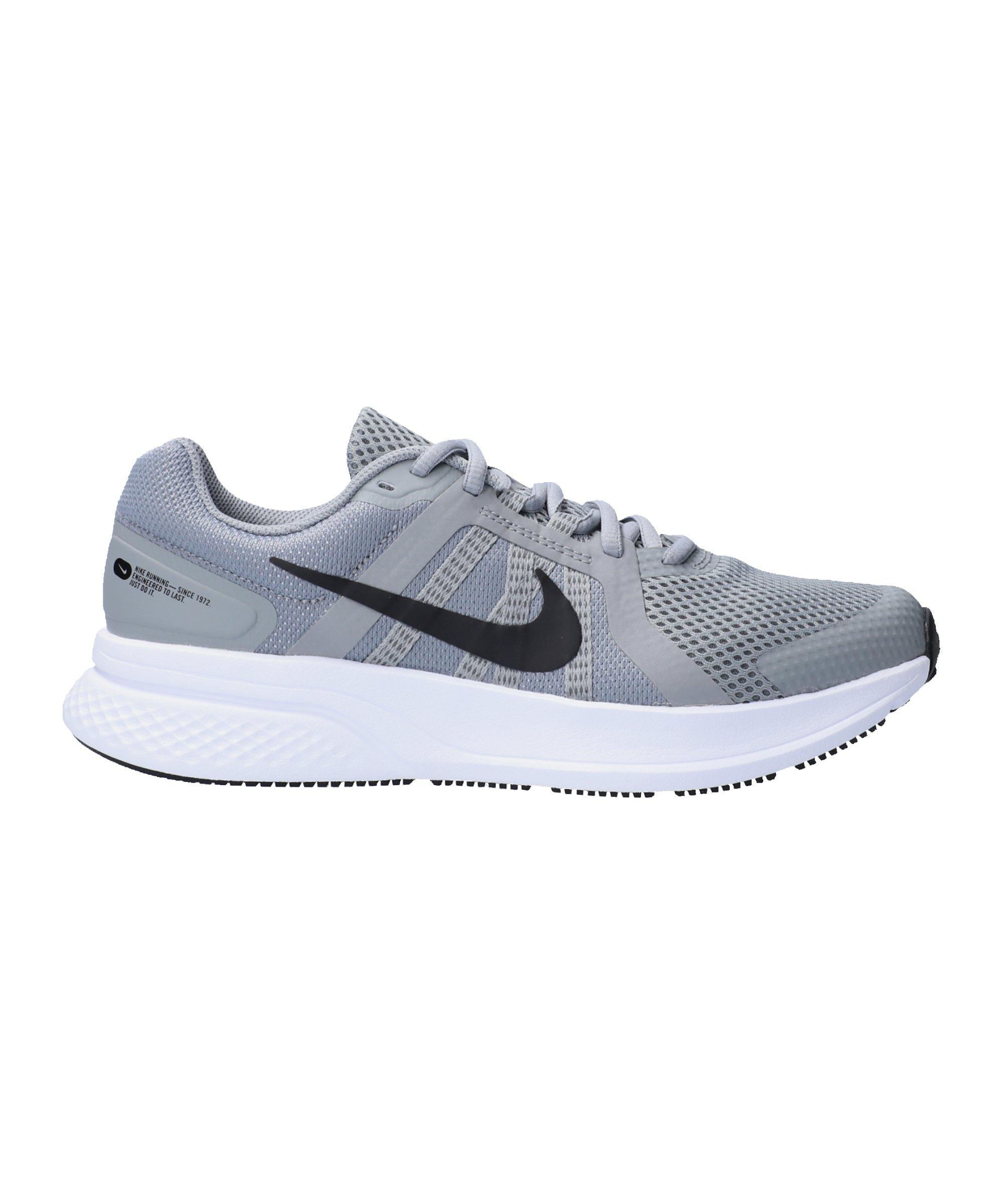 Nike Run Swift 2 Running Grau Schwarz F014 - grau