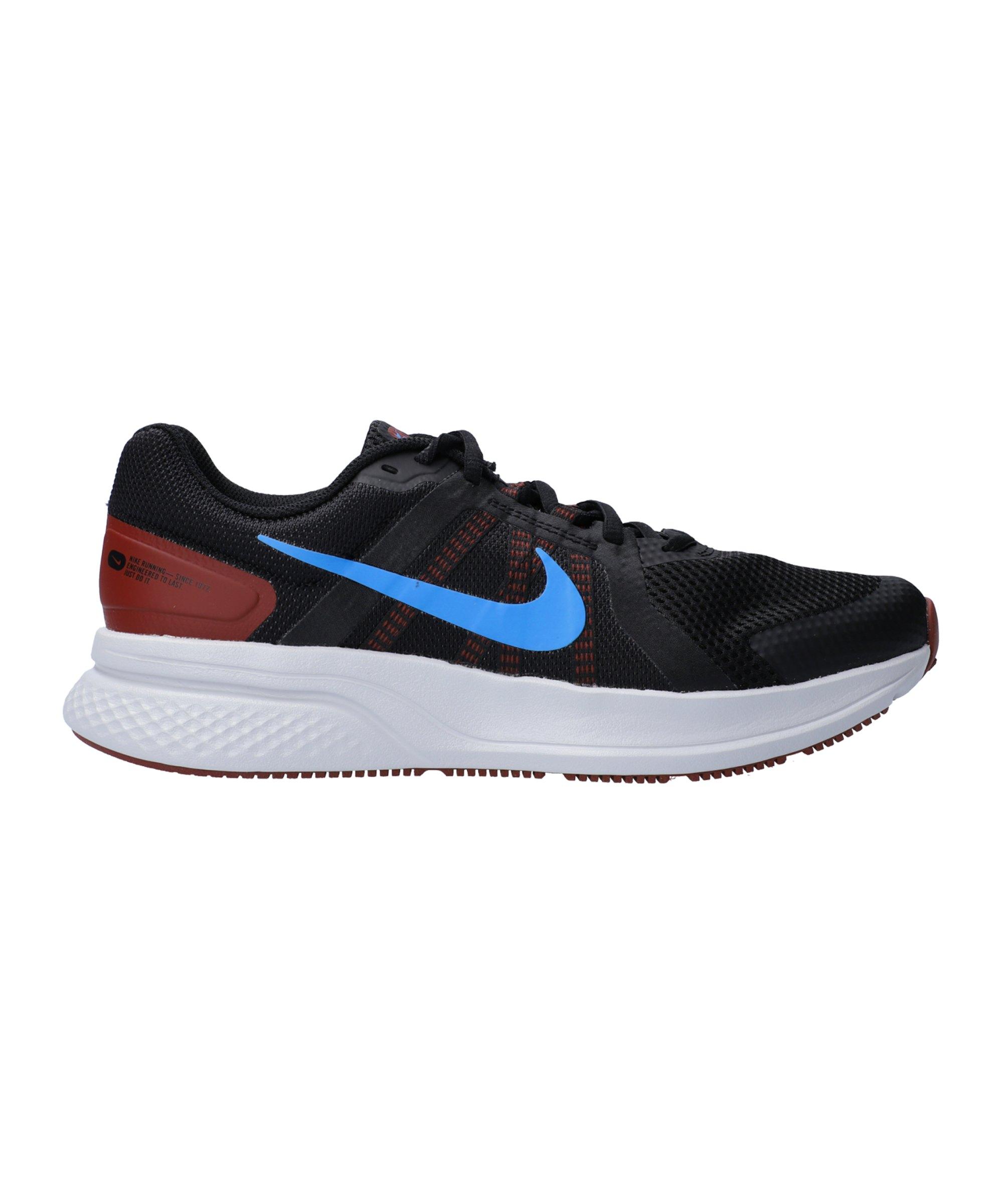 Nike Run Swift 2 Running Schwarz Blau F001 - schwarz
