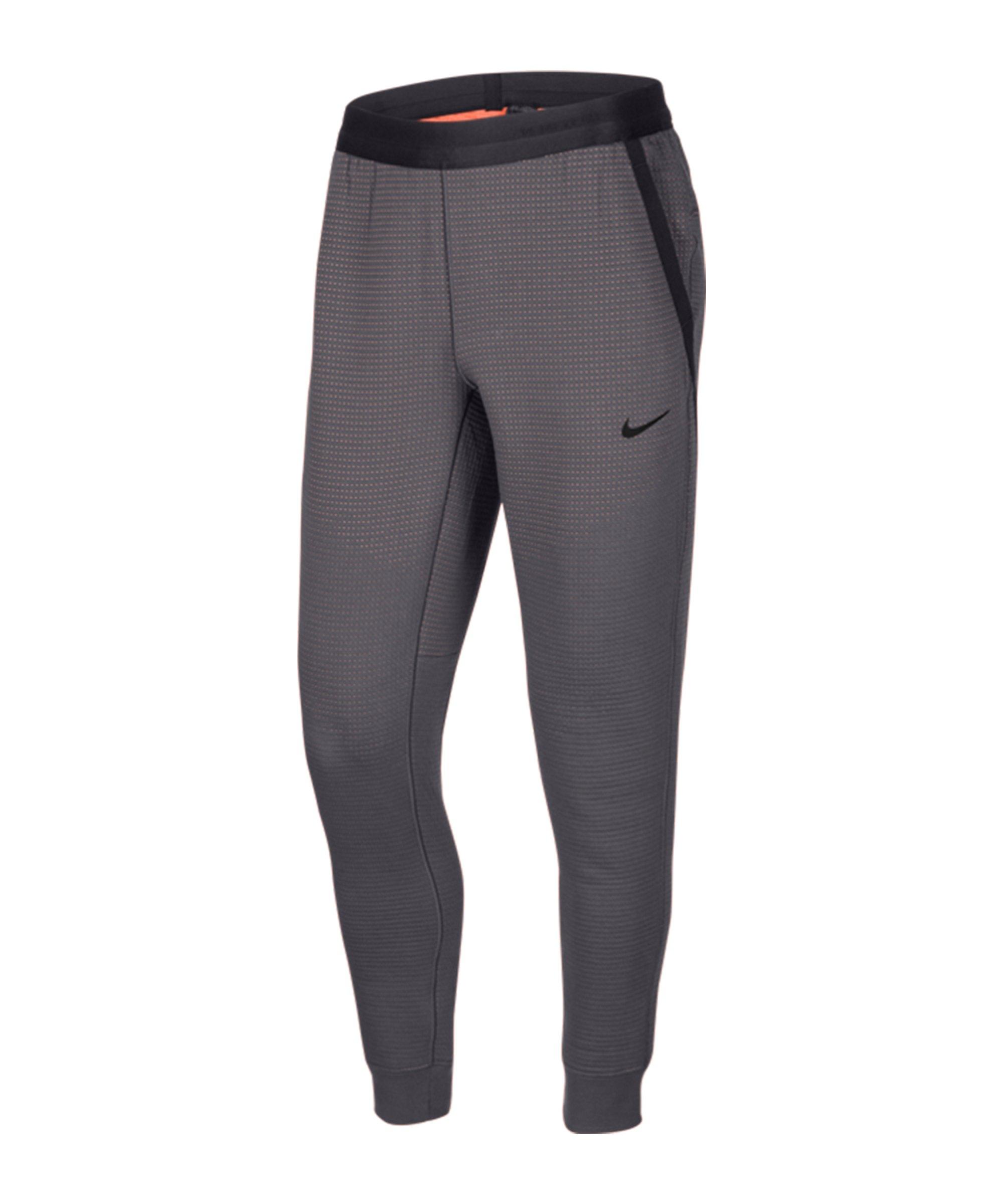 Nike Tech Pack Jogginghose Grau Orange F021 - grau