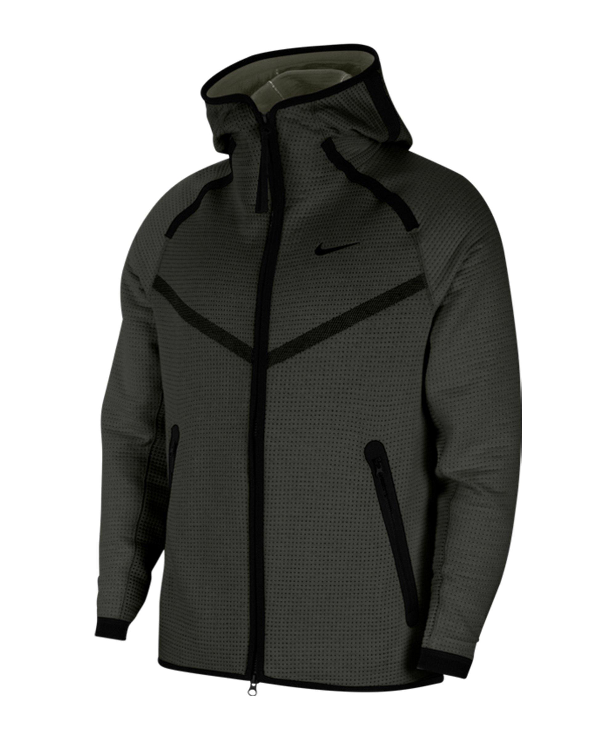 Nike Tech Pack Windrunner Kapuzenjacke Grau F355 - grau