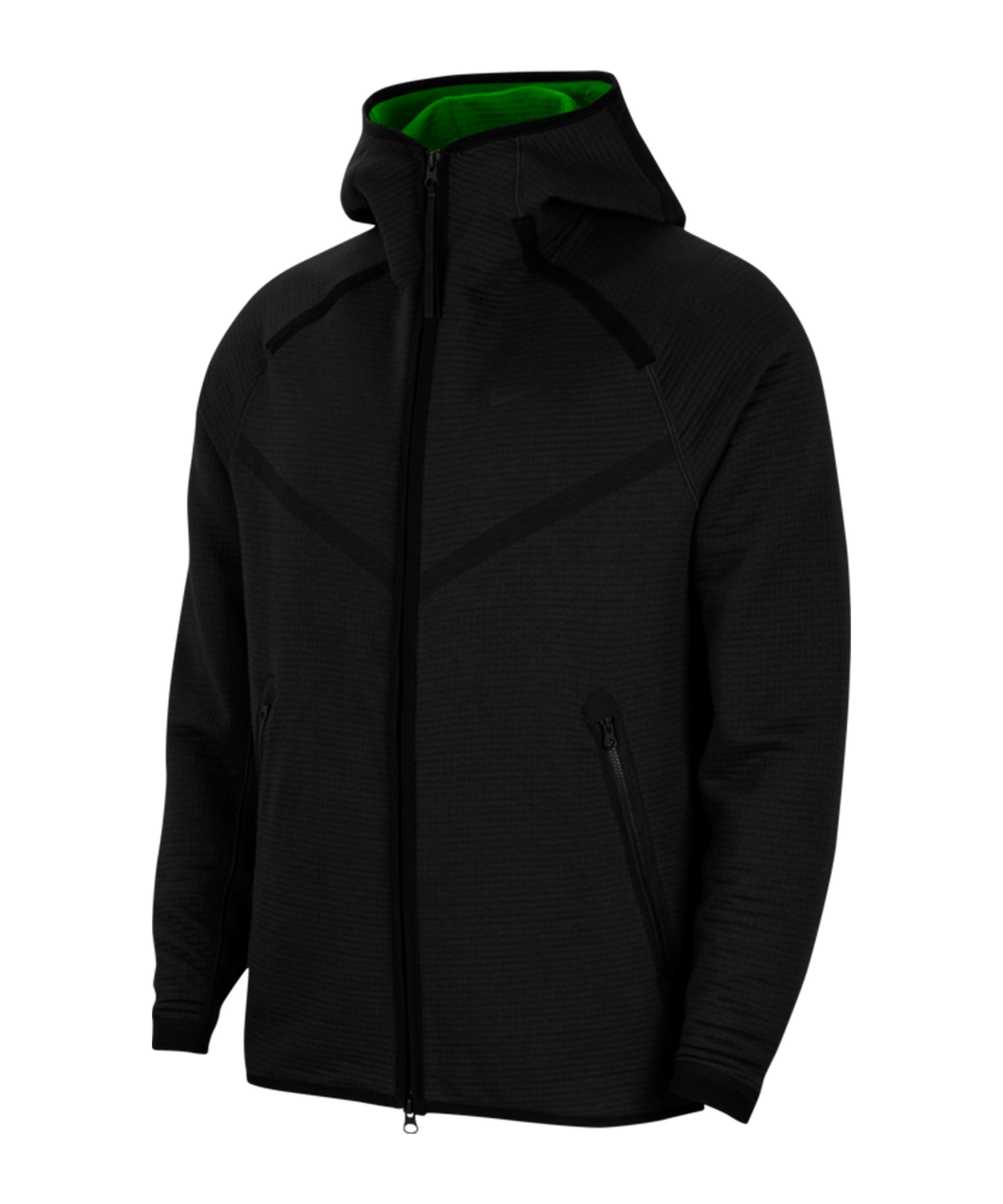 Nike Tech Pack Windrunner Schwarz Grün F014 - schwarz