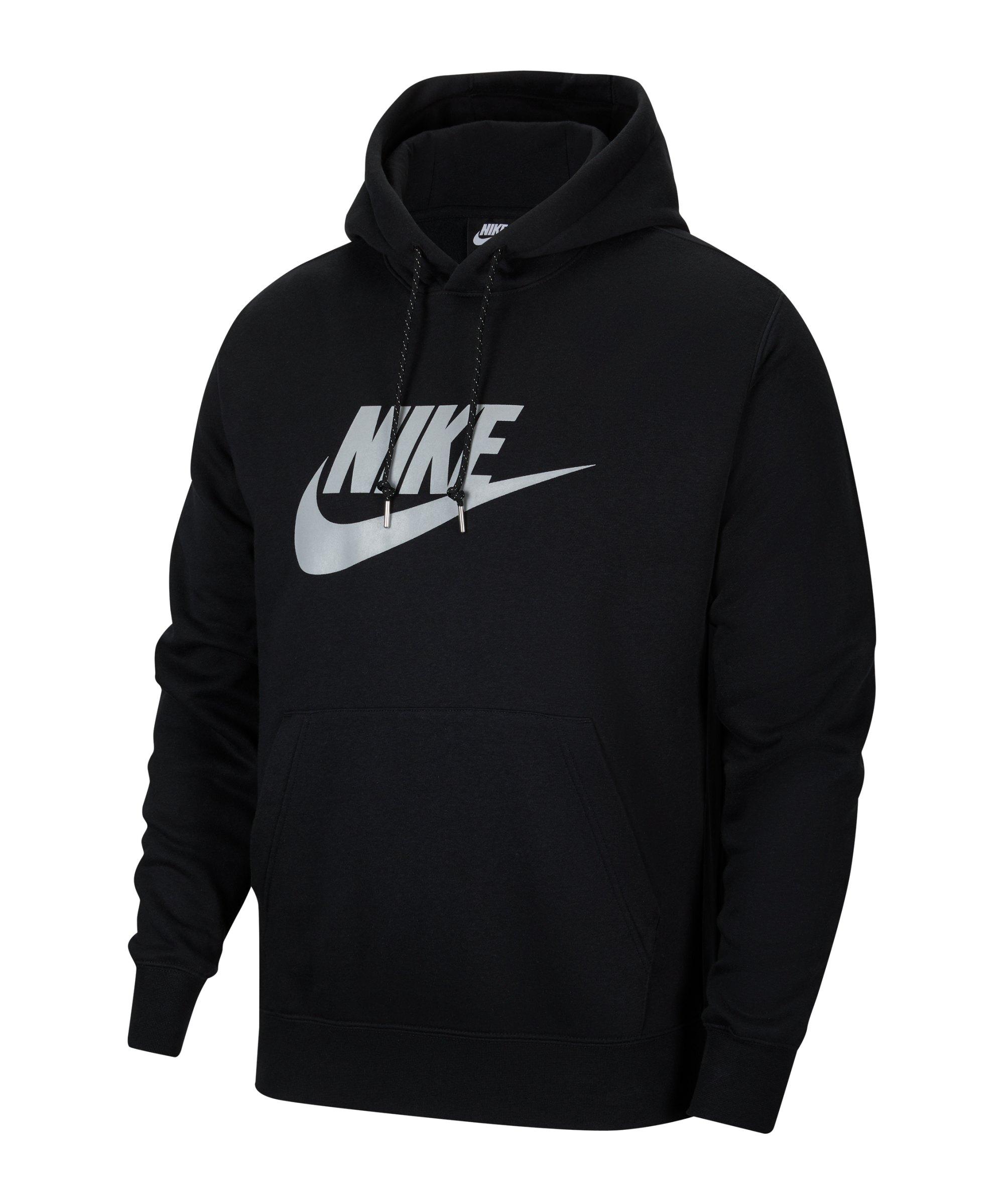 Nike Q5 Hoody Schwarz F010 - schwarz