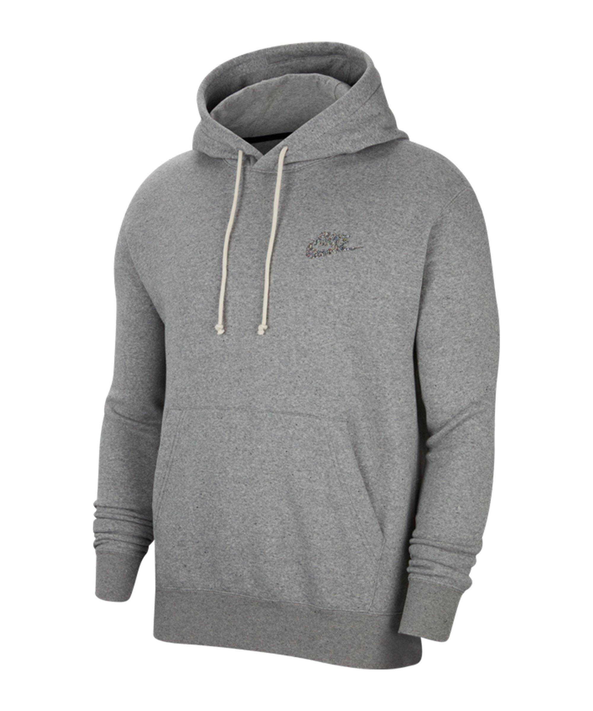 Nike Grind Hoody Grau F902 - grau