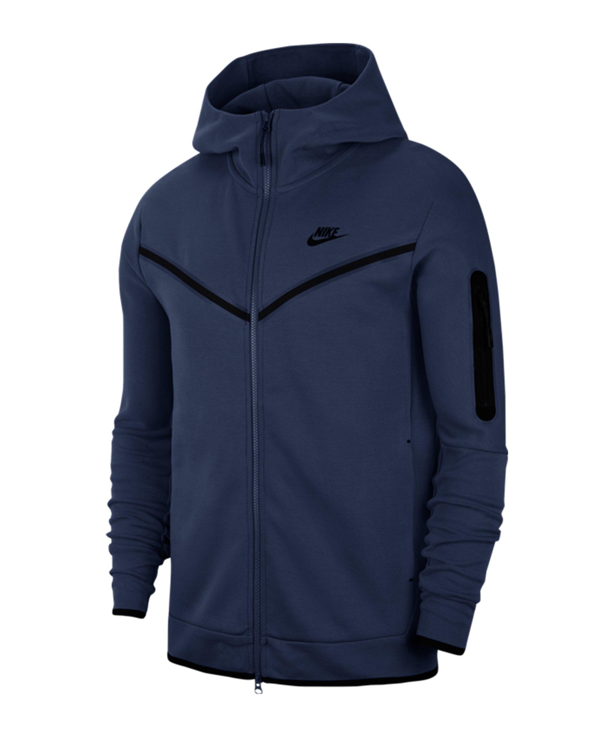 Nike Tech Fleece Windrunner Blau F410 - blau