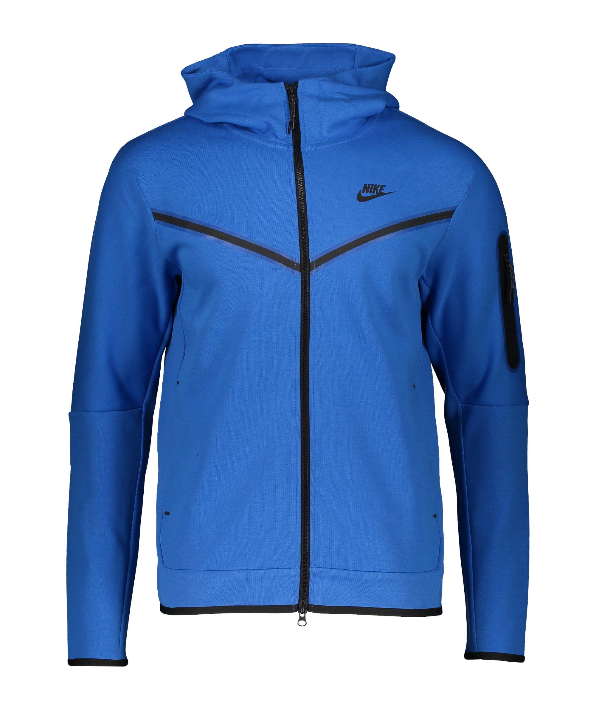 Nike Tech Fleece Windrunner Blau Schwarz F403 - blau