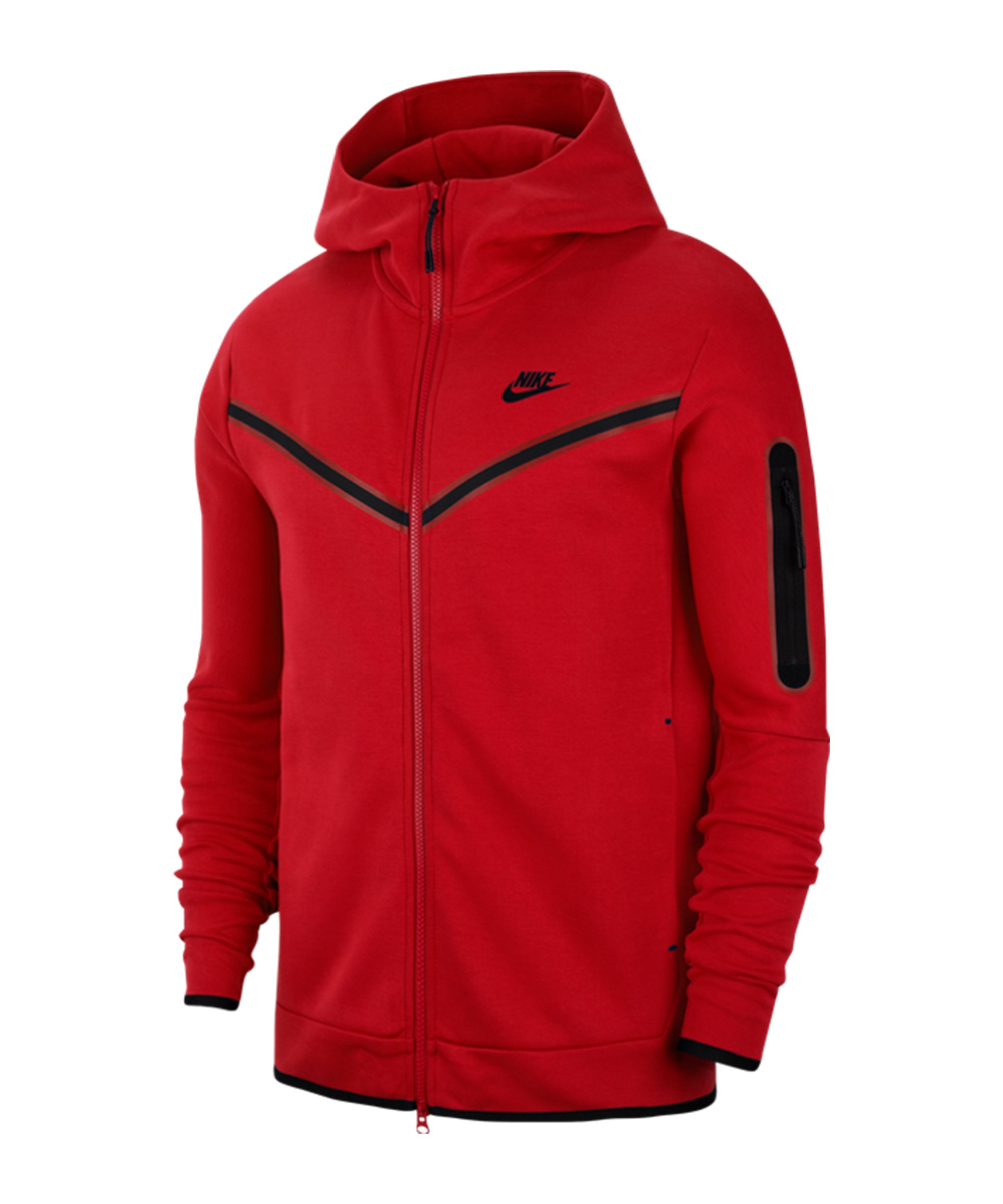 Nike Tech Fleece Windrunner Rot F657 - rot
