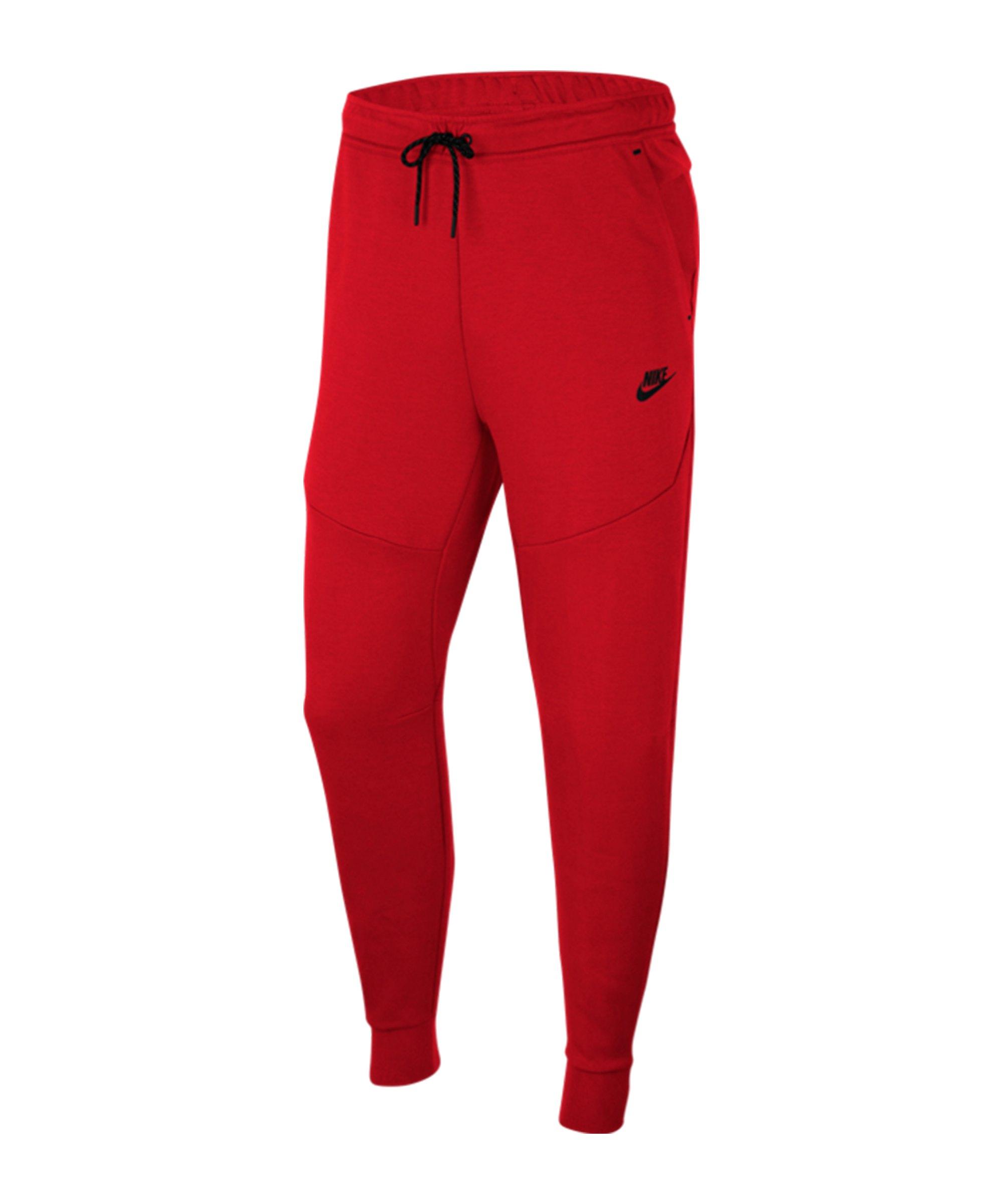 Nike Nike Tech Fleece Jogginghose Rot F657 - rot