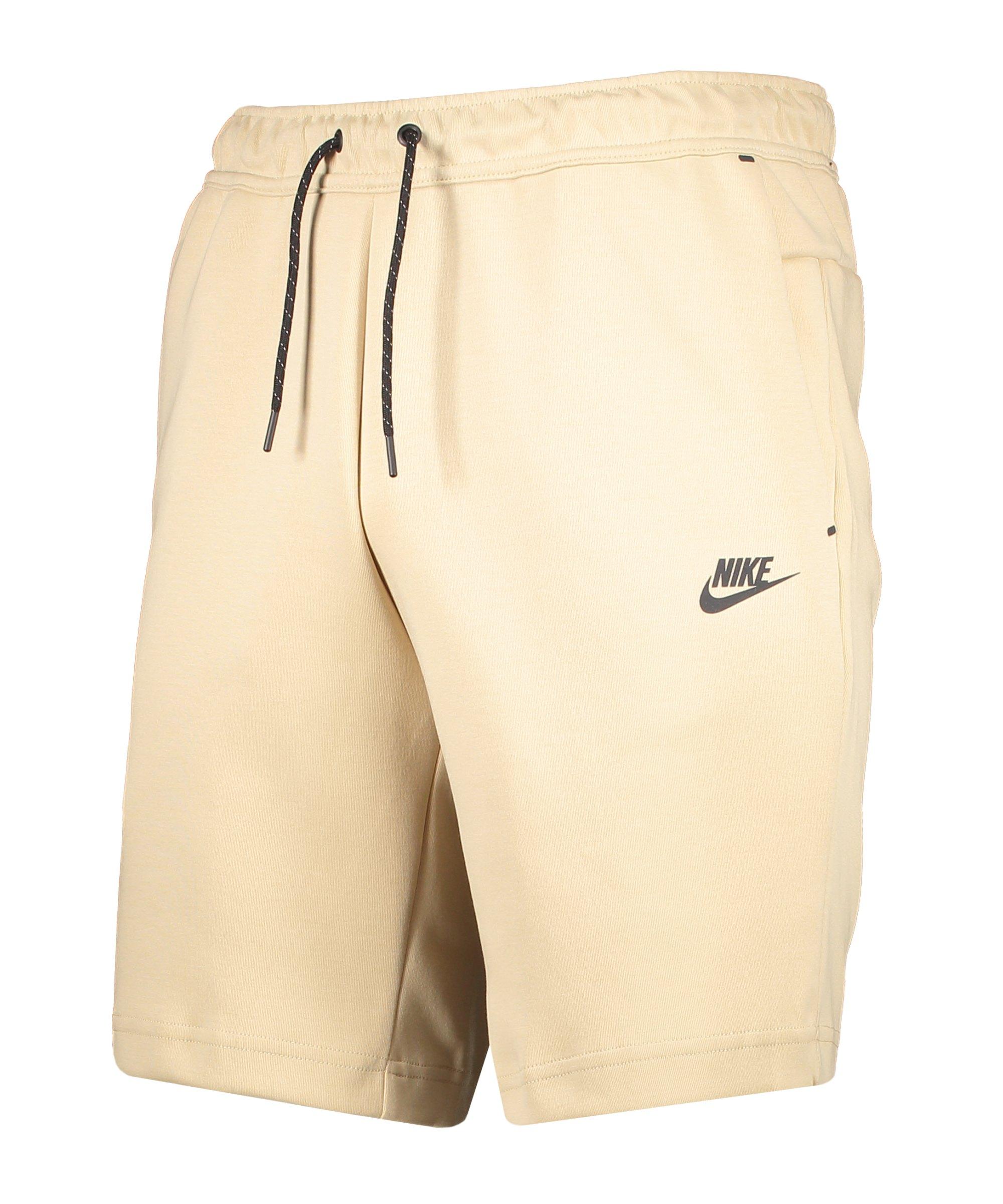 Nike Tech Fleece Short Beige F224 - braun