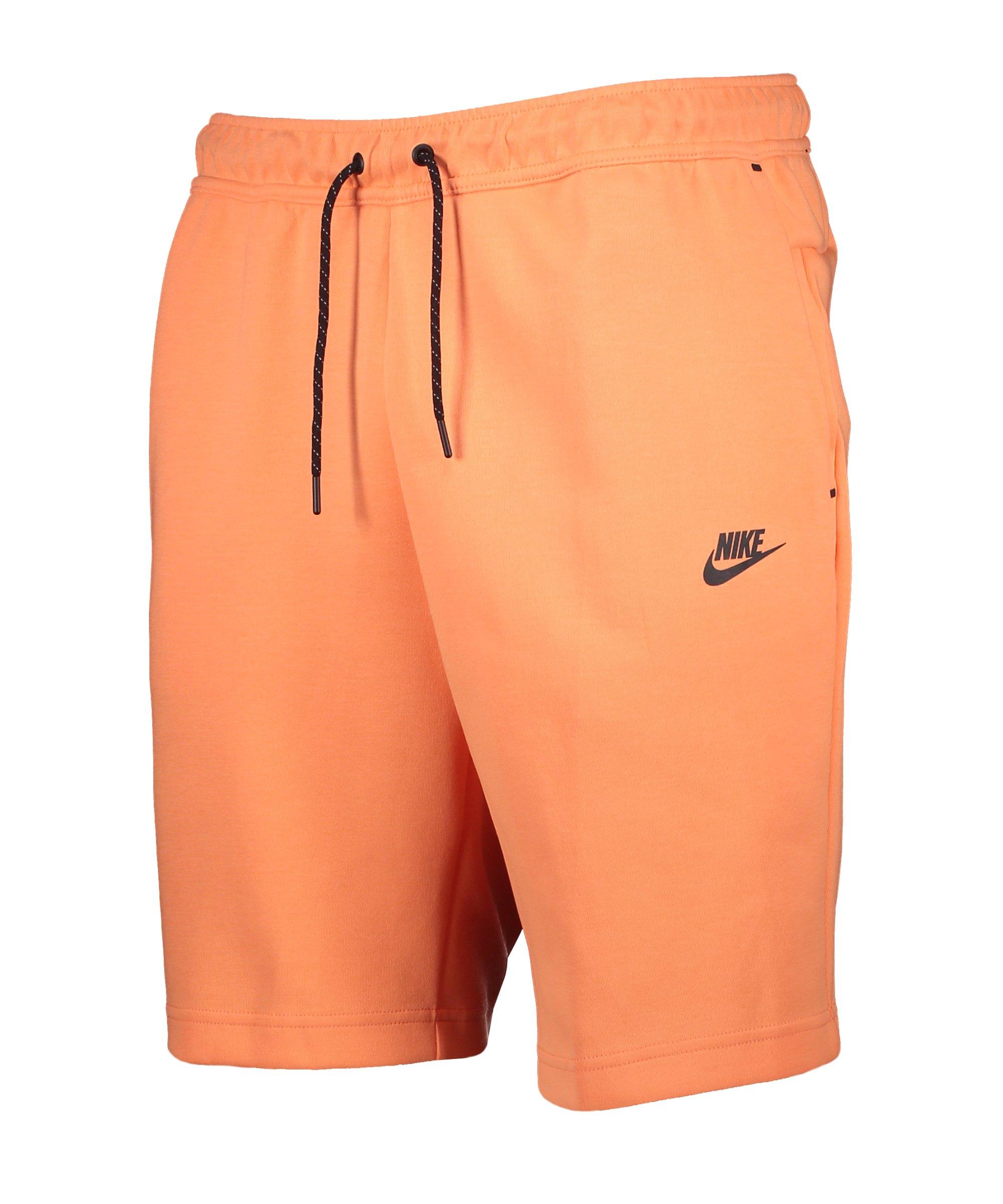 Nike Tech Fleece Short Orange F835 - orange