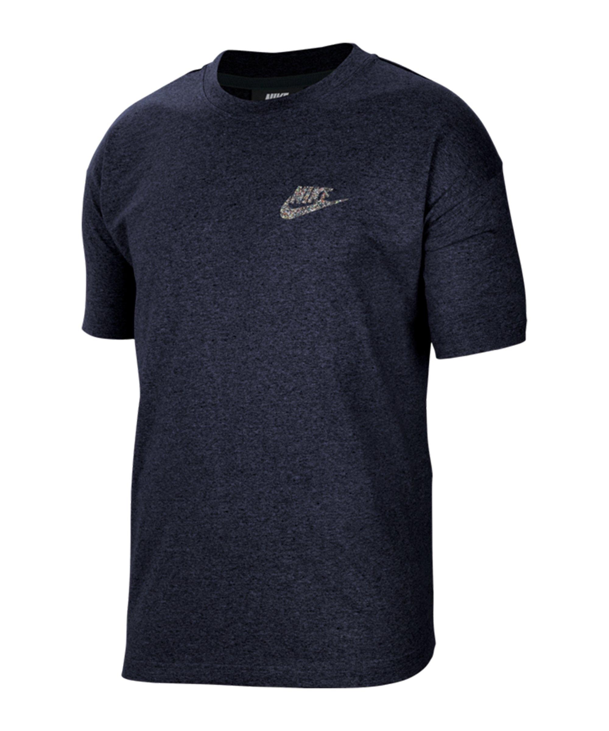 Nike Essentials T-Shirt Blau F905 - blau
