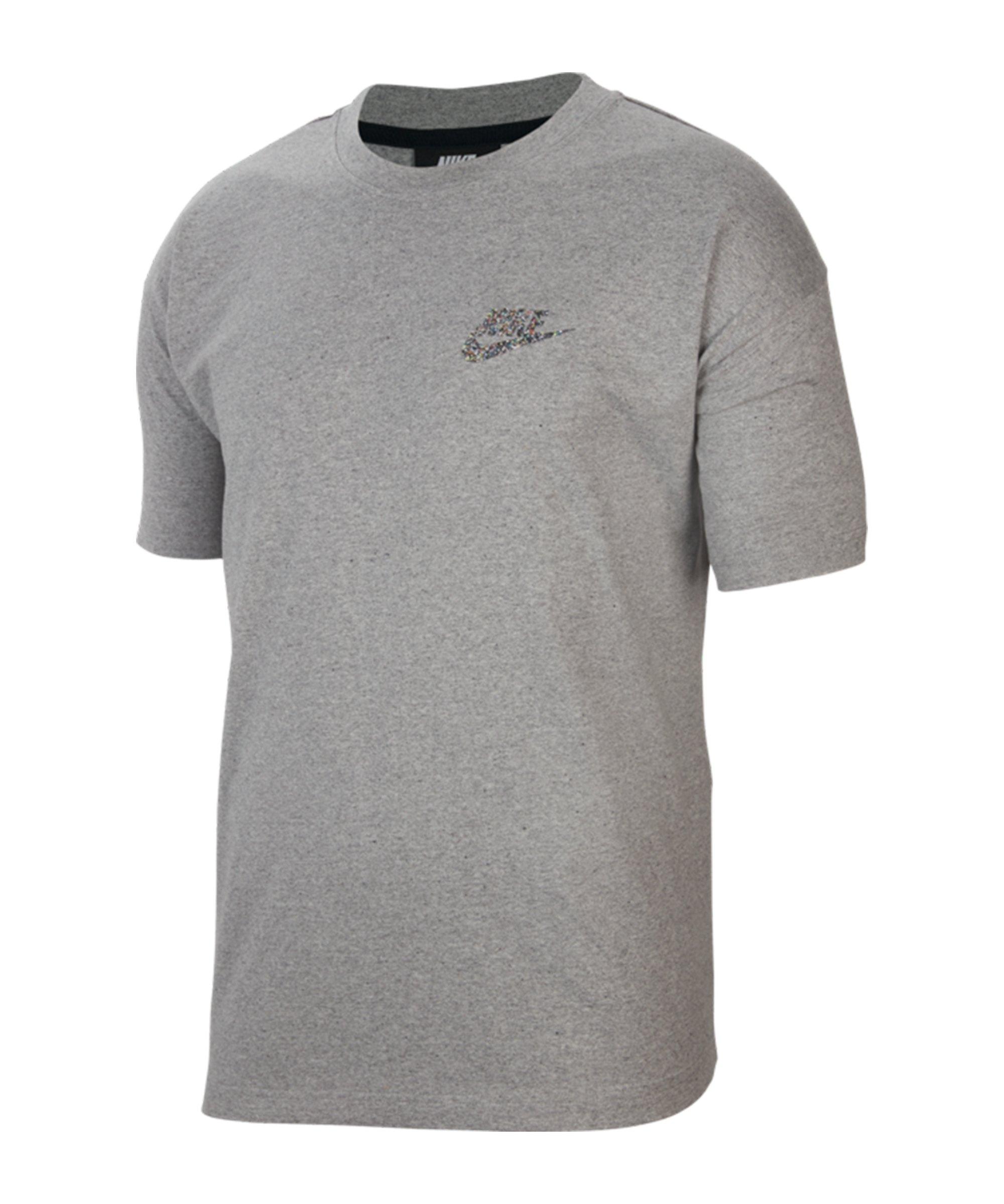 Nike Essentials T-Shirt Grau F905 - grau