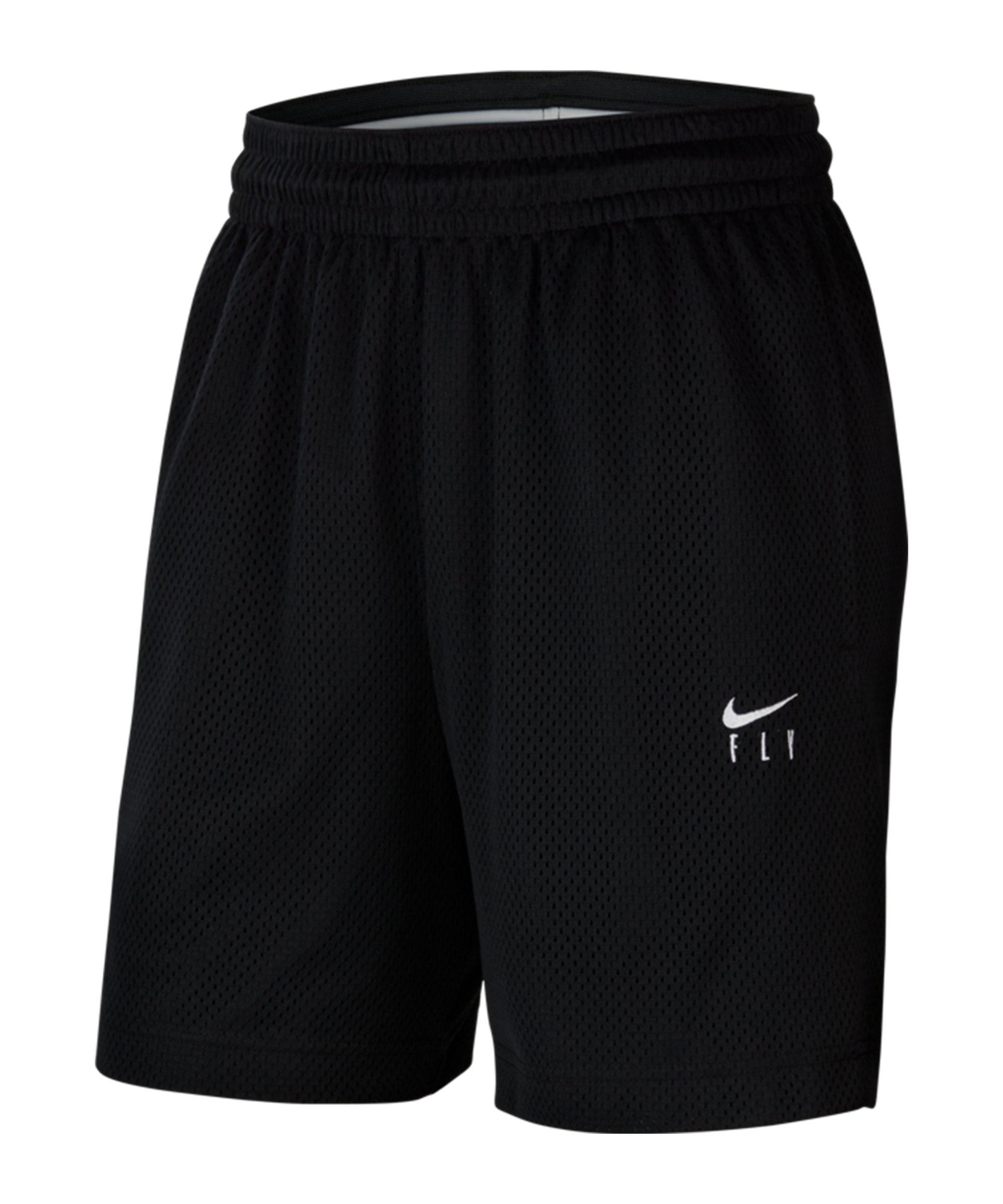 Nike Swoosh Fly Basketball Short Damen F010 - schwarz