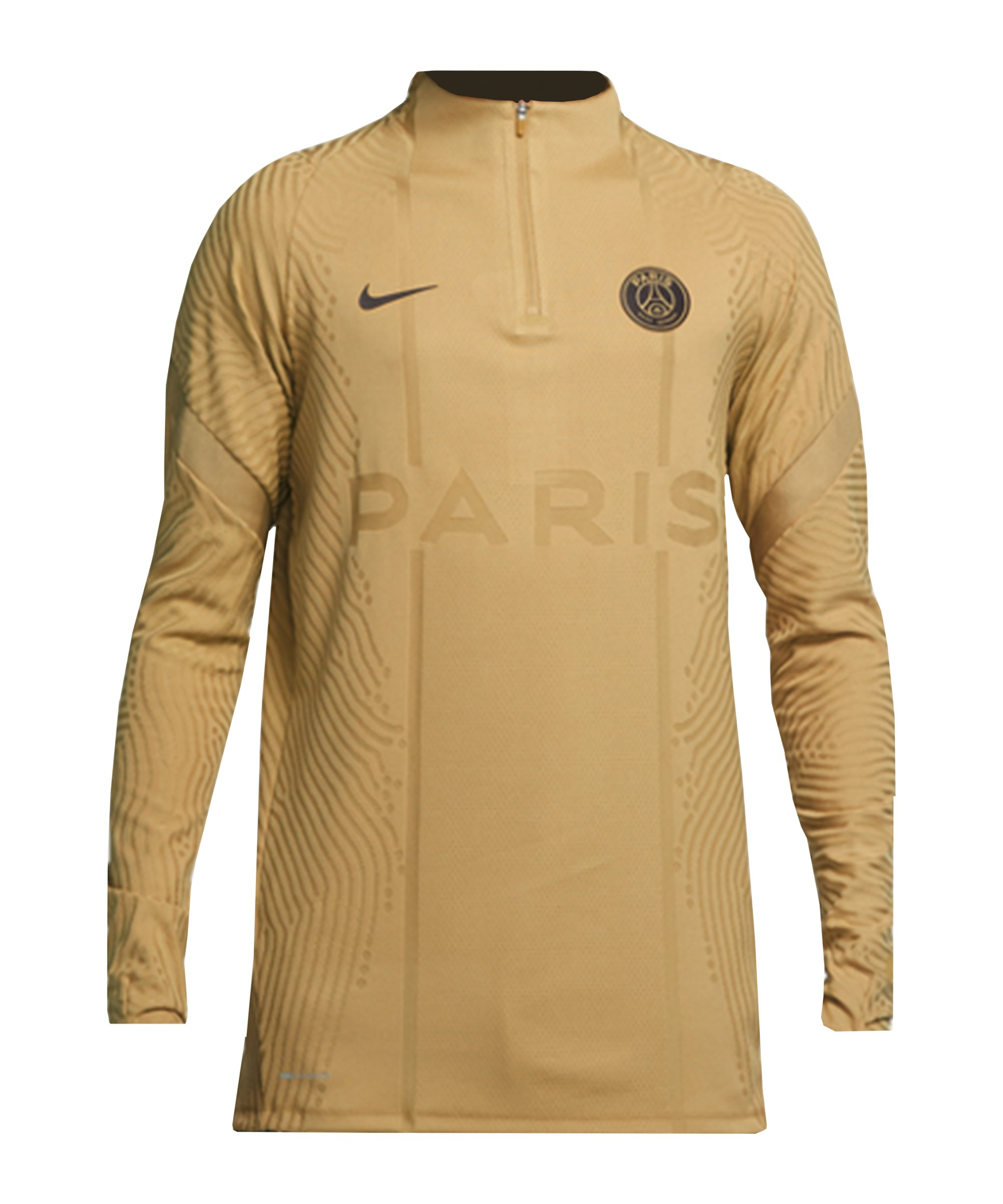 Nike Paris St. Germain Vaporknit Drill Top F710 - gold