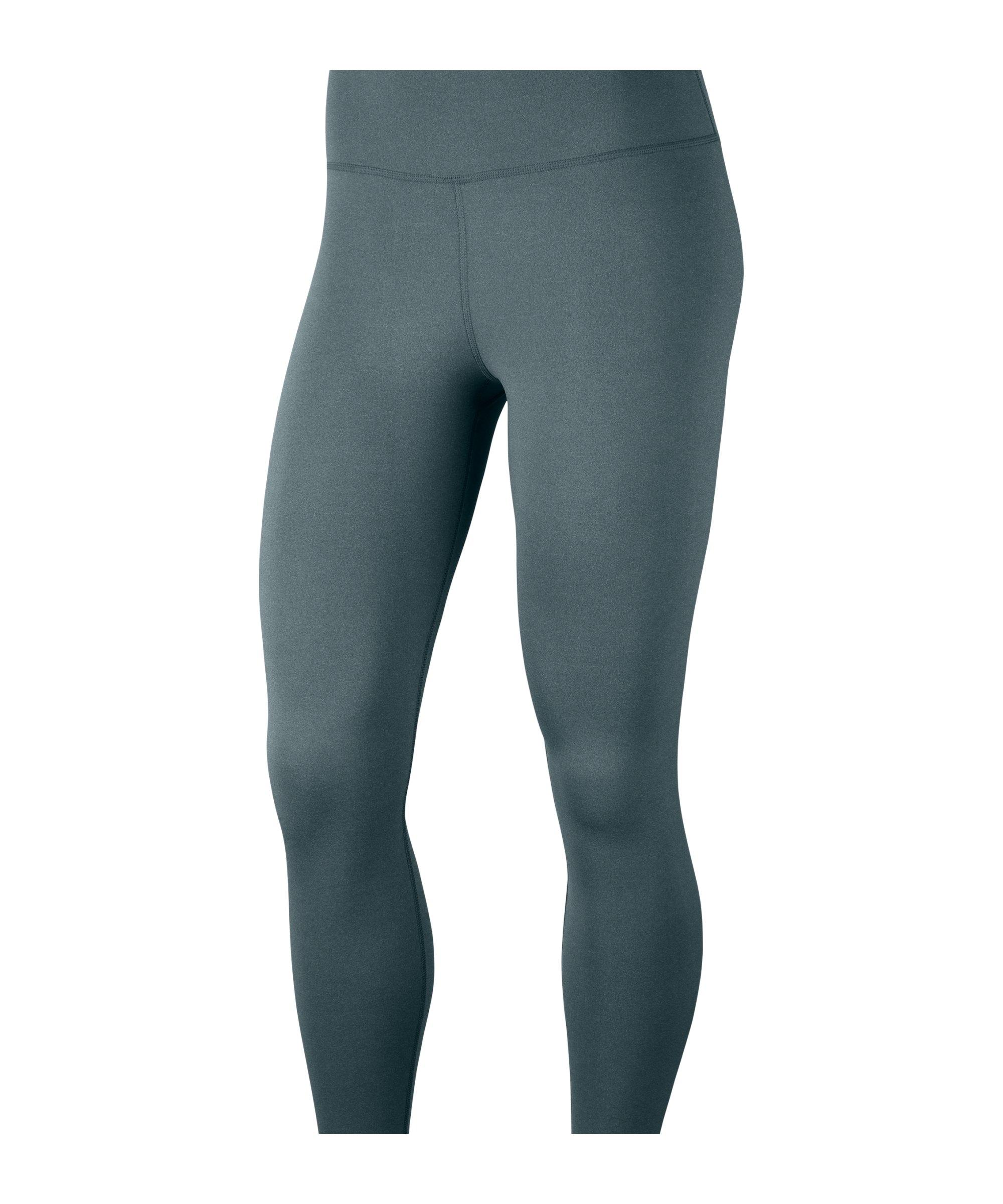 Nike Yoga 7/8 Leggings Training Damen Grün F387 - gruen