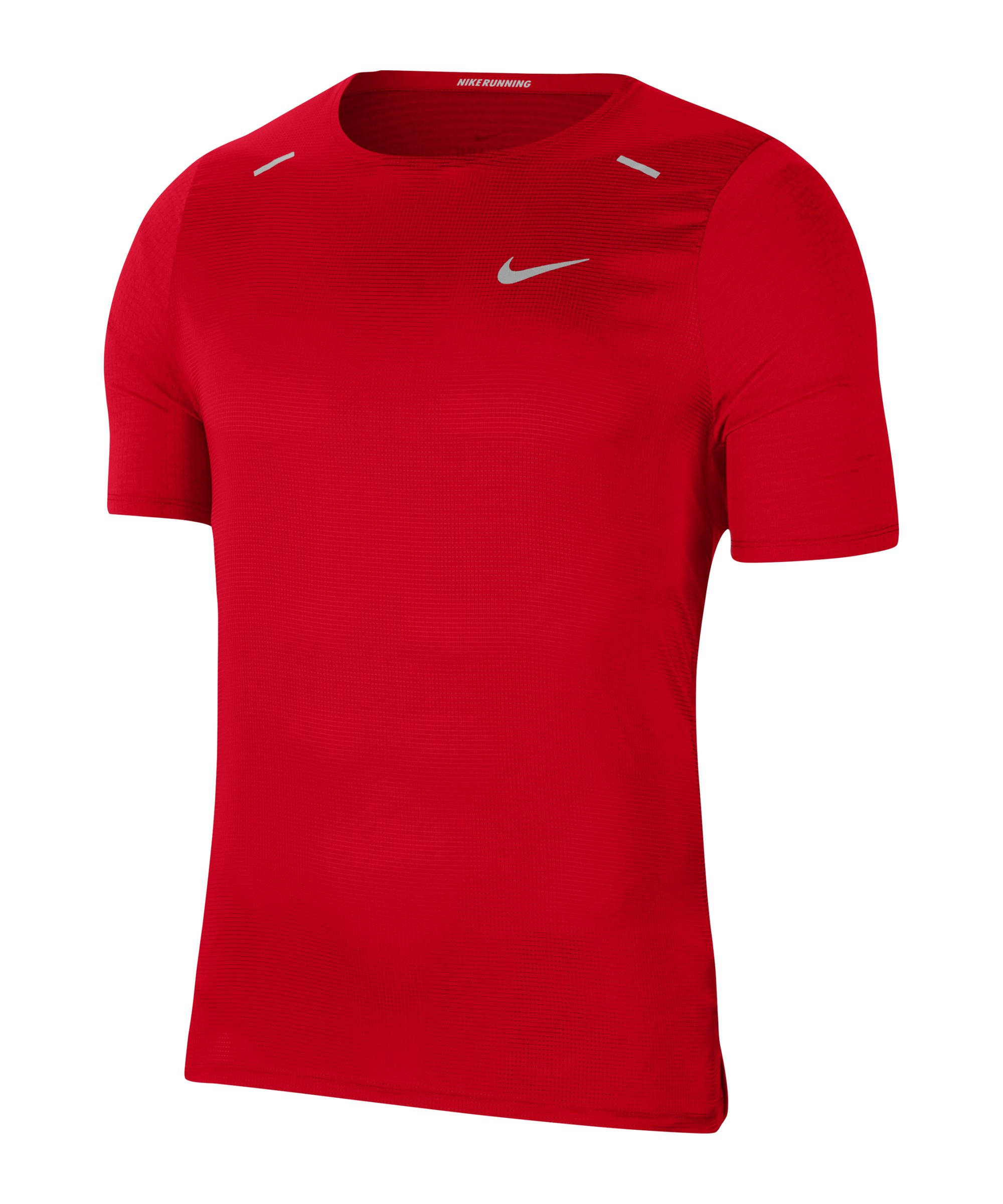 Nike Breathe Rise 365 T-Shirt Running Rot F657 - rot