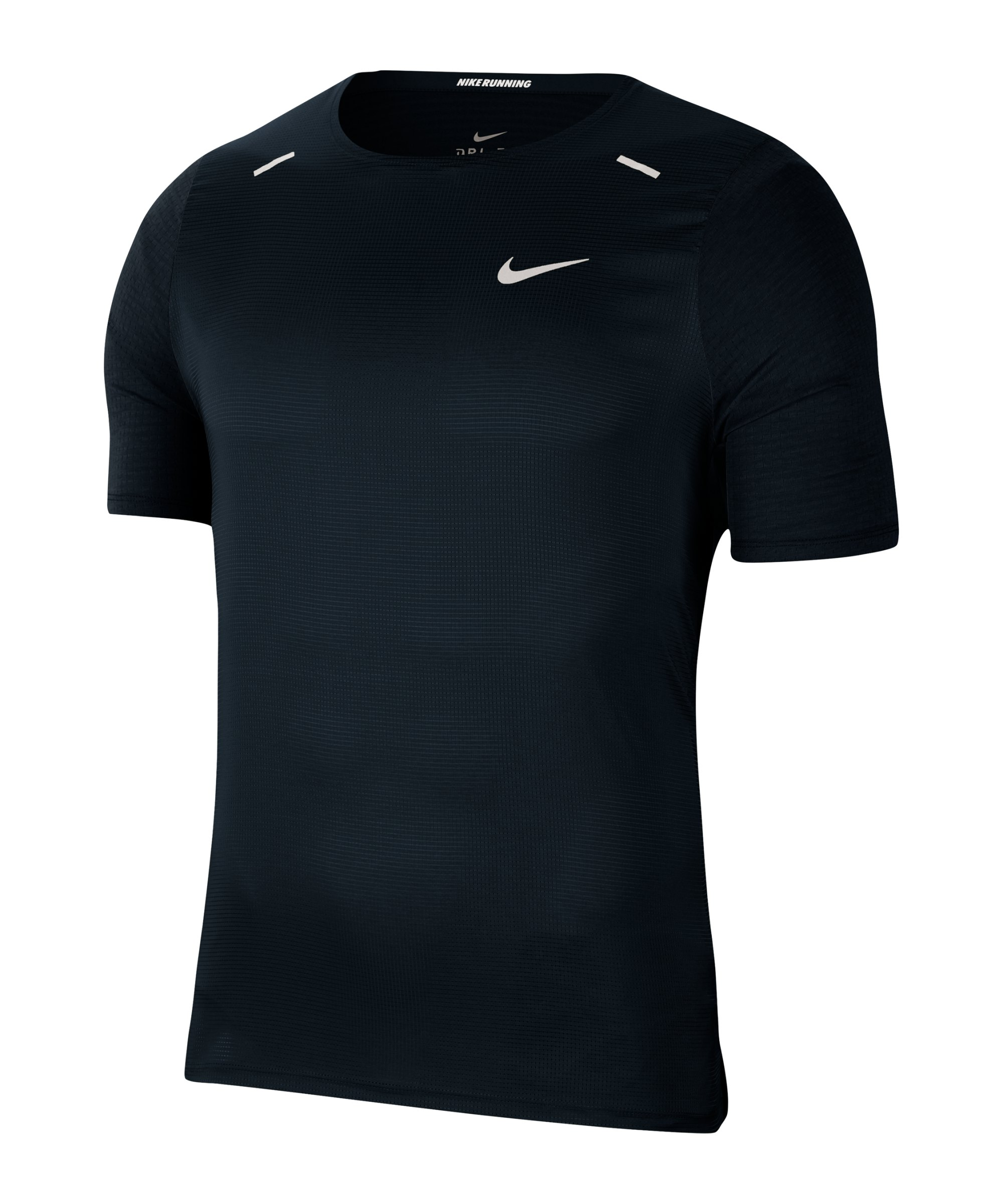 Nike Breathe Rise 365 T-Shirt Running Schwarz F010 - schwarz
