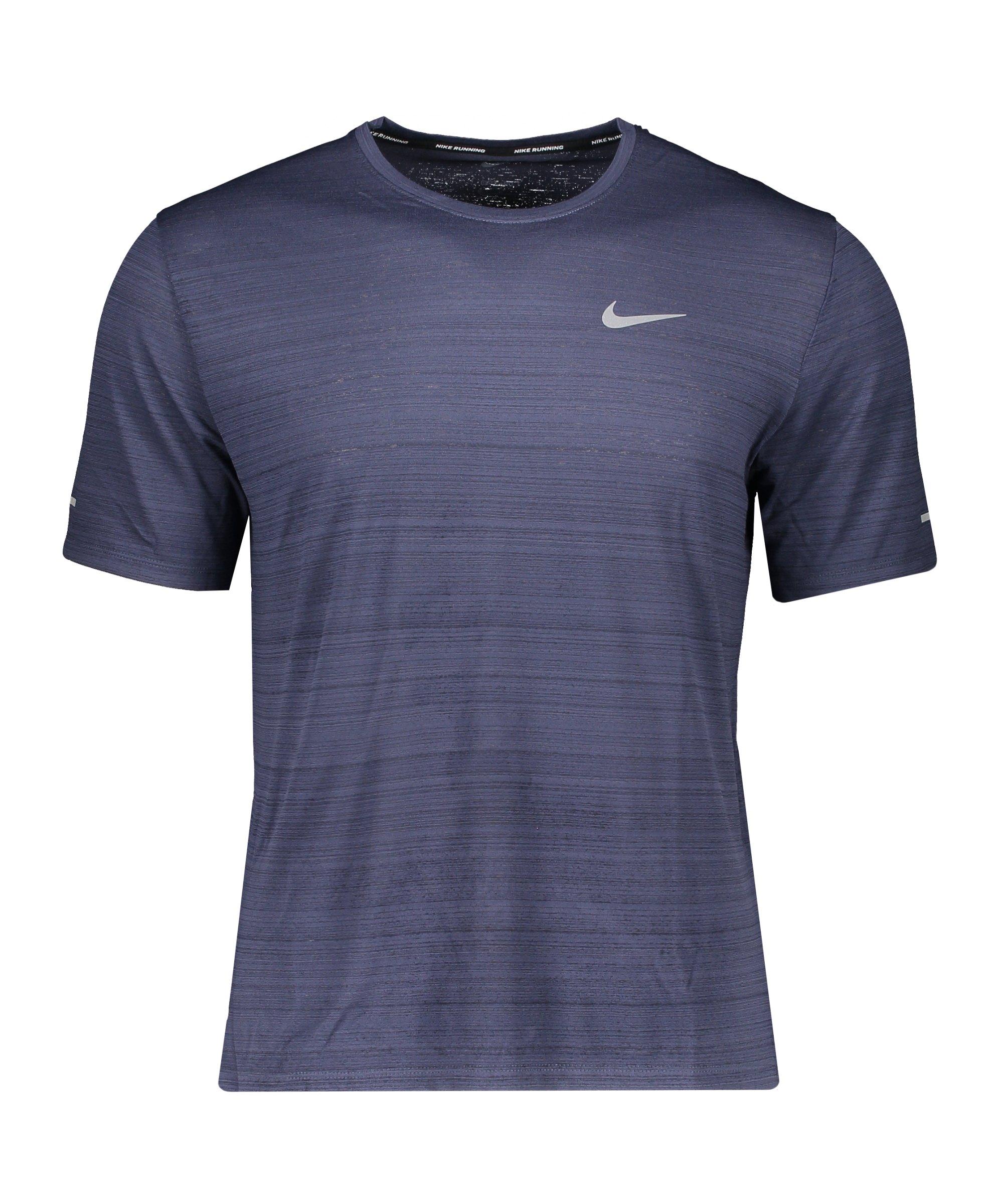 Nike Miler Dri-FIT T-Shirt Running Blau F437 - blau