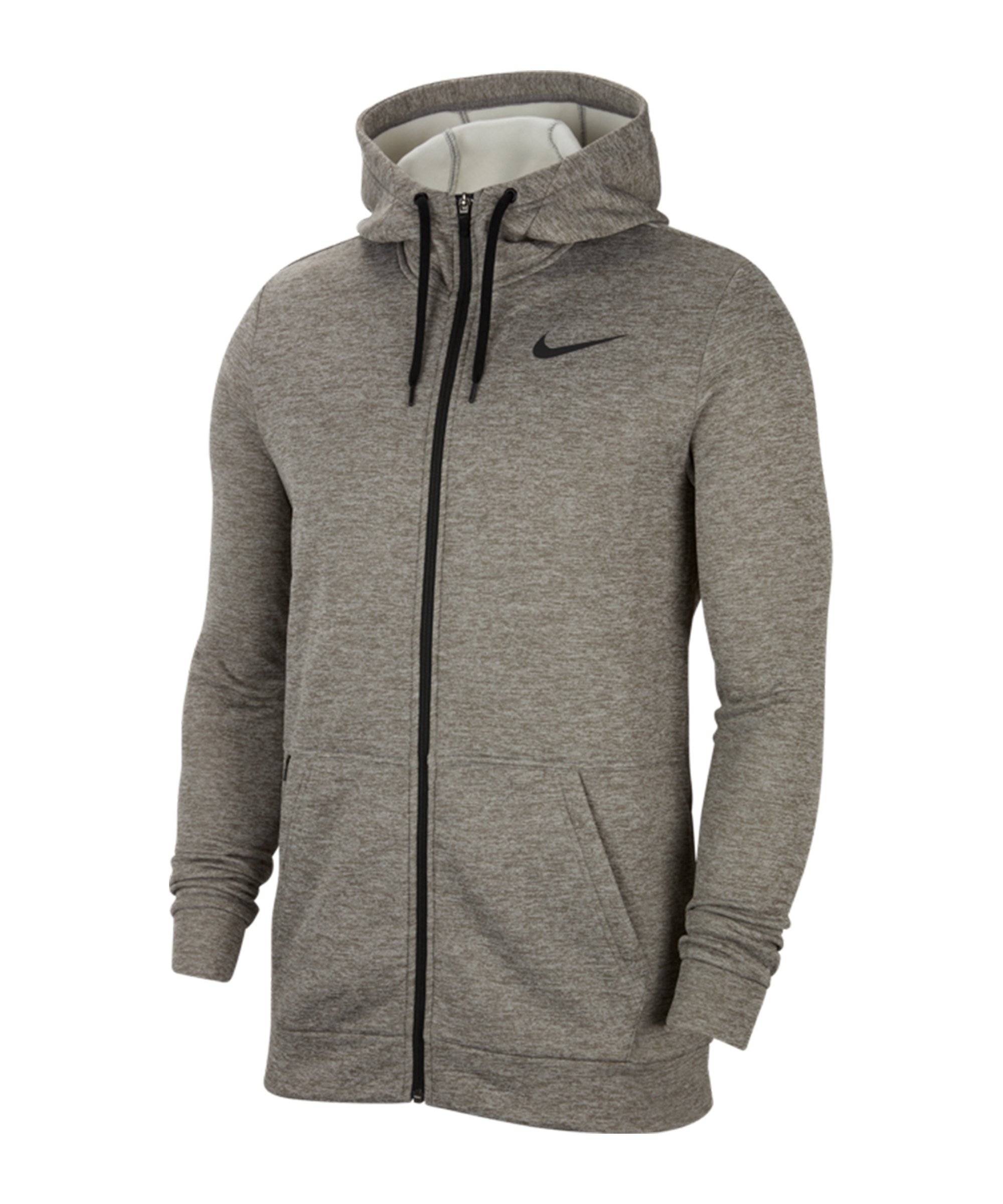 Nike Therma Kapuzenjacke Grau F063 - grau
