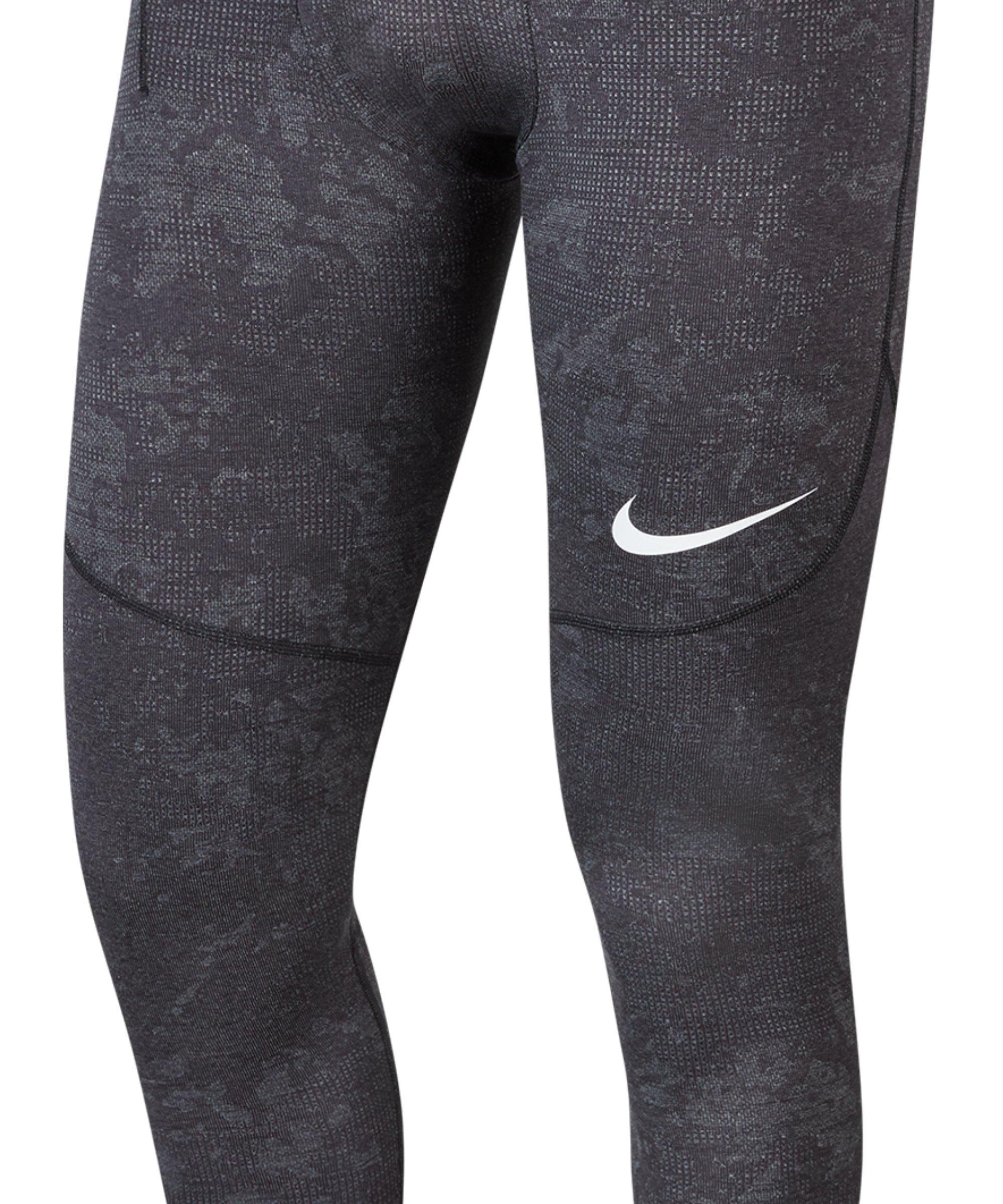 Nike Pro Utility Warm Tight Schwarz F010 - schwarz