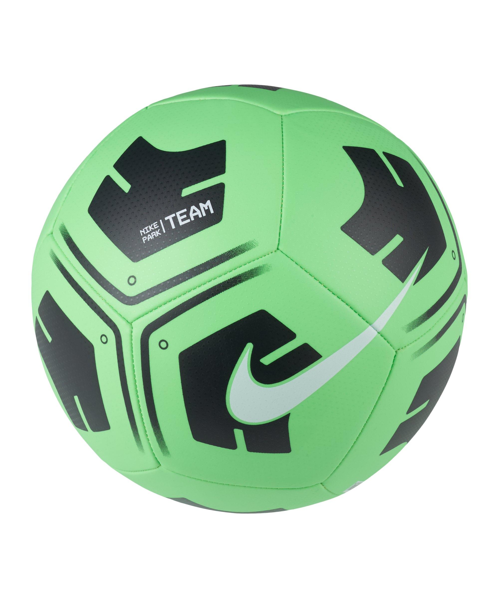 Nike Park Trainingsball Grün Schwarz F310 - gruen