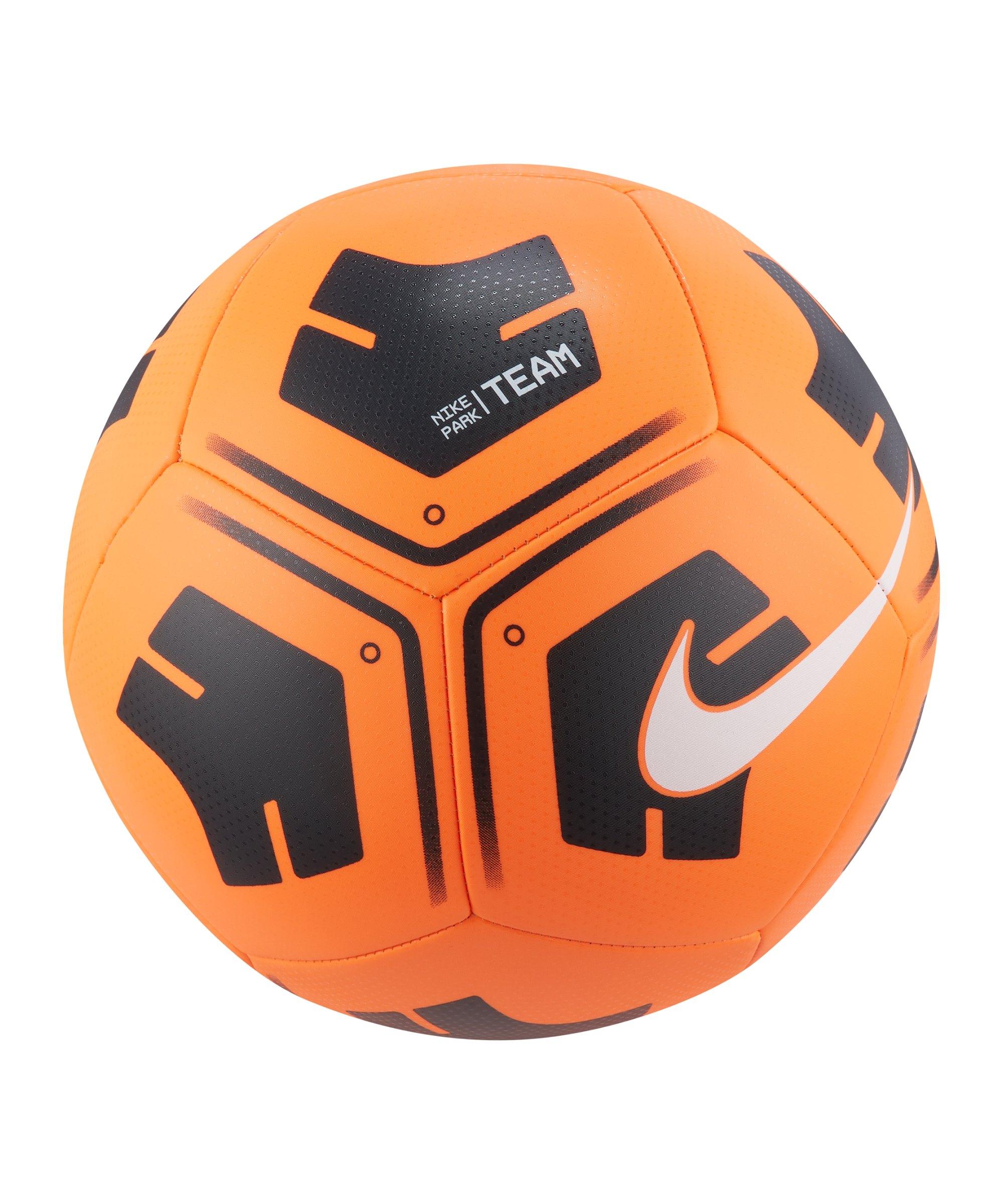 Nike Park Trainingsball Orange Schwarz F810 - orange