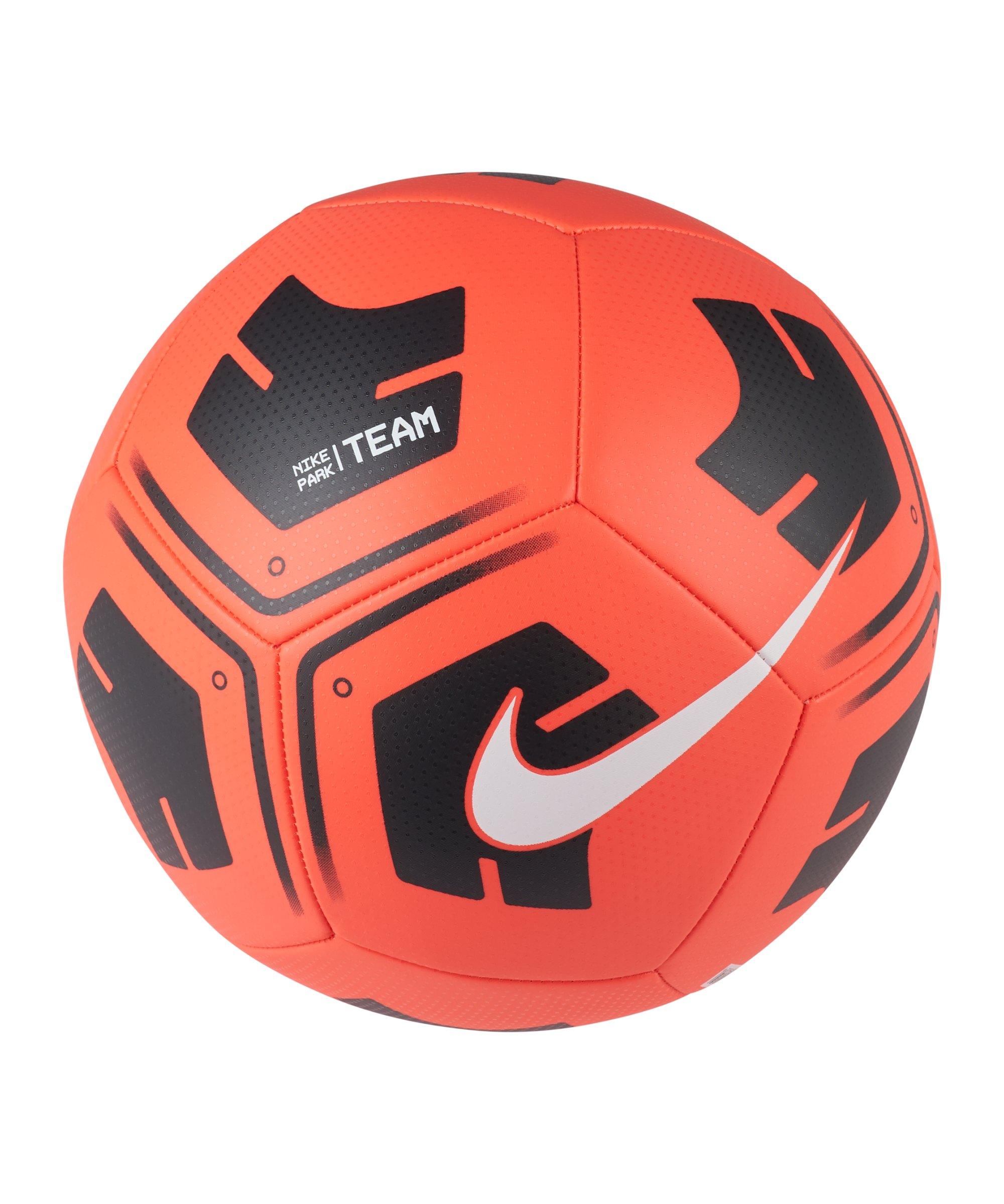 Nike Park Trainingsball Rot Schwarz F610 - rot