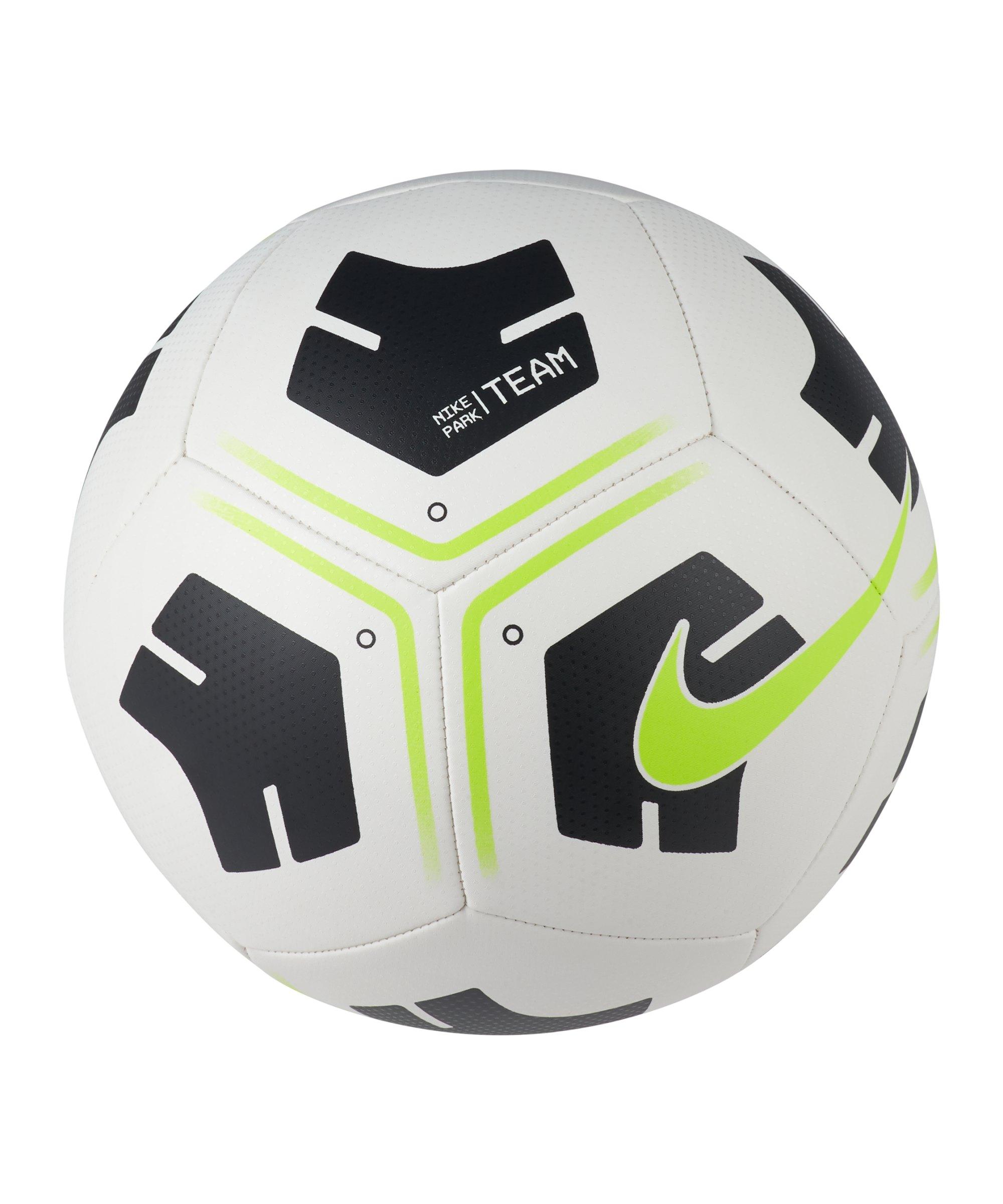 Nike Park Trainingsball Weiss Gelb F101 - weiss