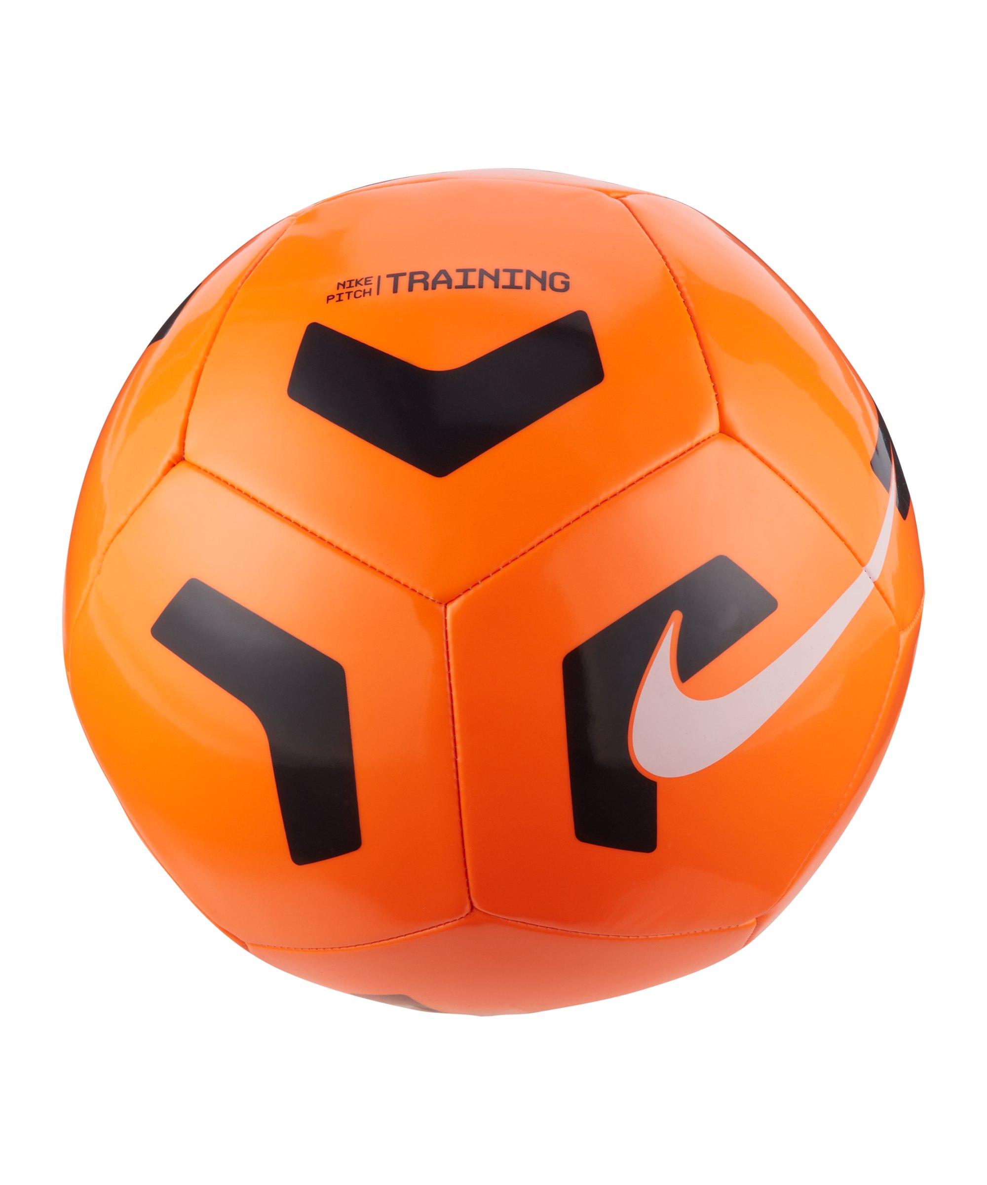 Nike Pitch Trainingsball Orange Schwarz F803 - orange