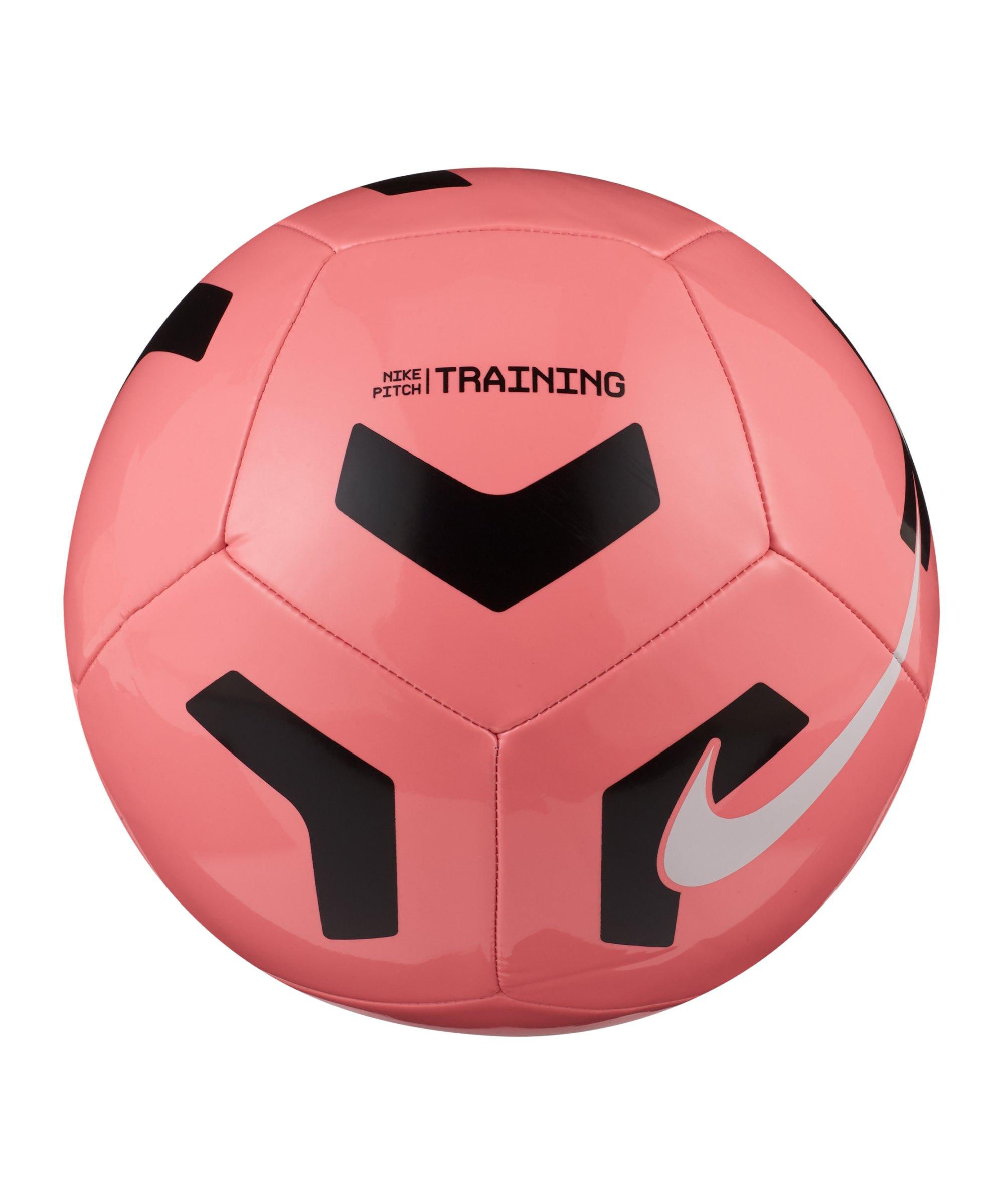 Nike Pitch Trainingsball Rot Schwarz F675 - rot