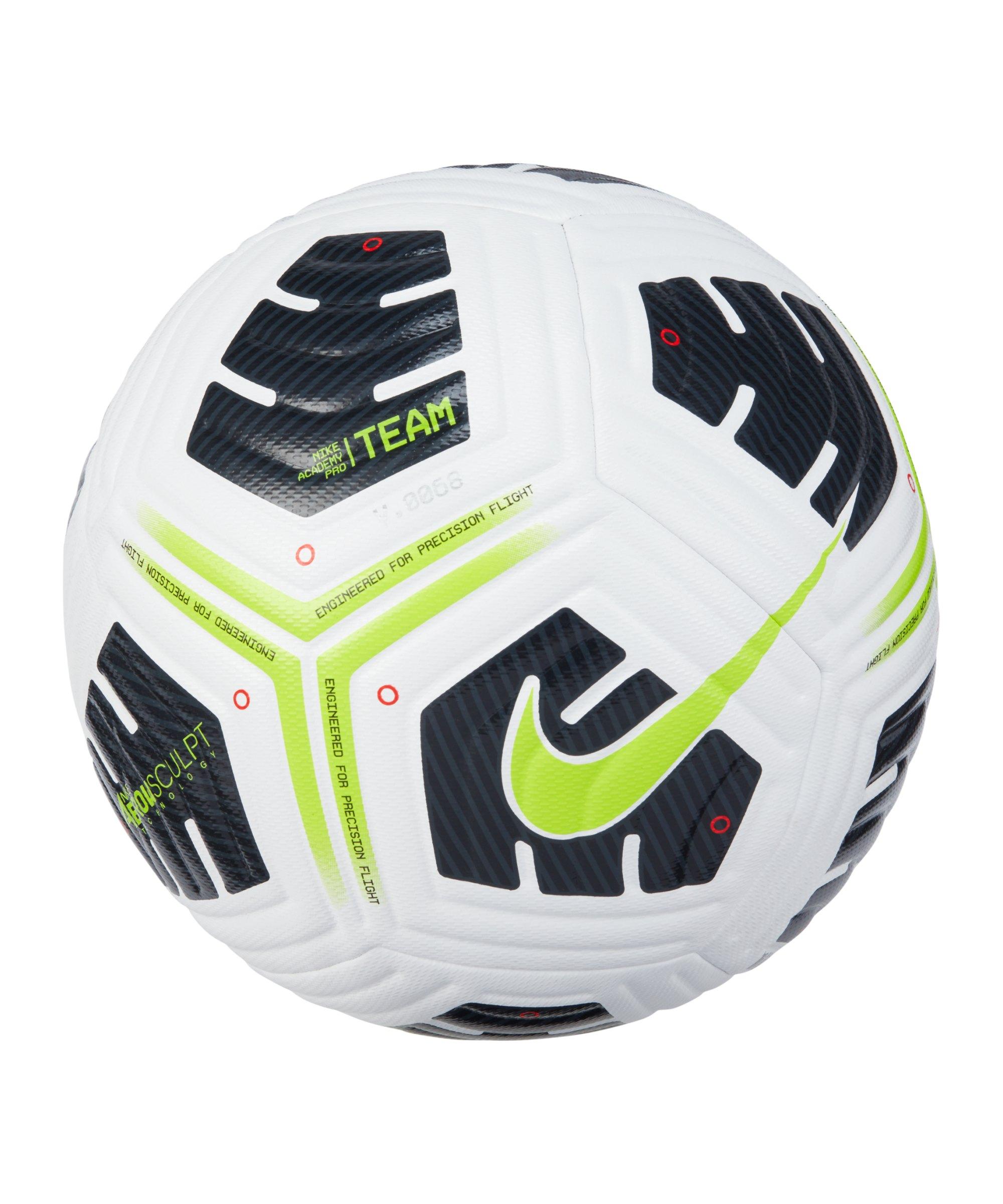 Nike Academy Pro FIFA Trainingsball Weiss F100 - weiss