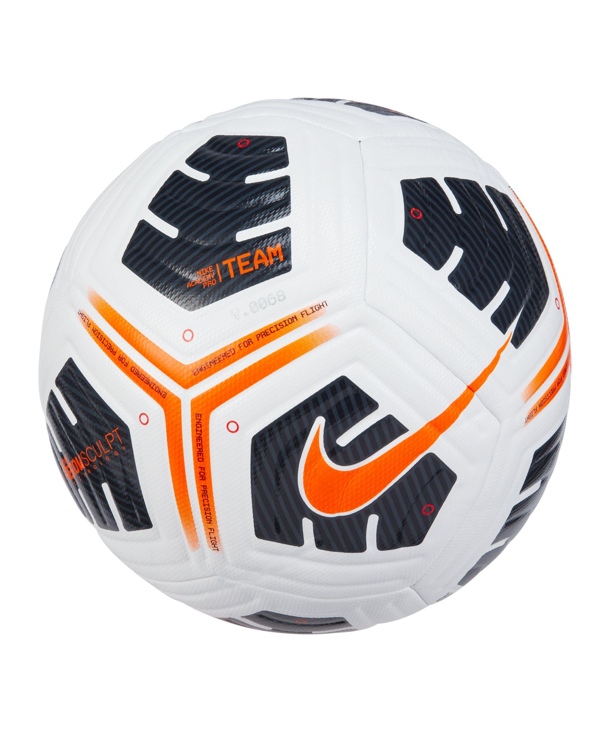 Nike Academy Pro FIFA Trainingsball Weiss F101 - weiss