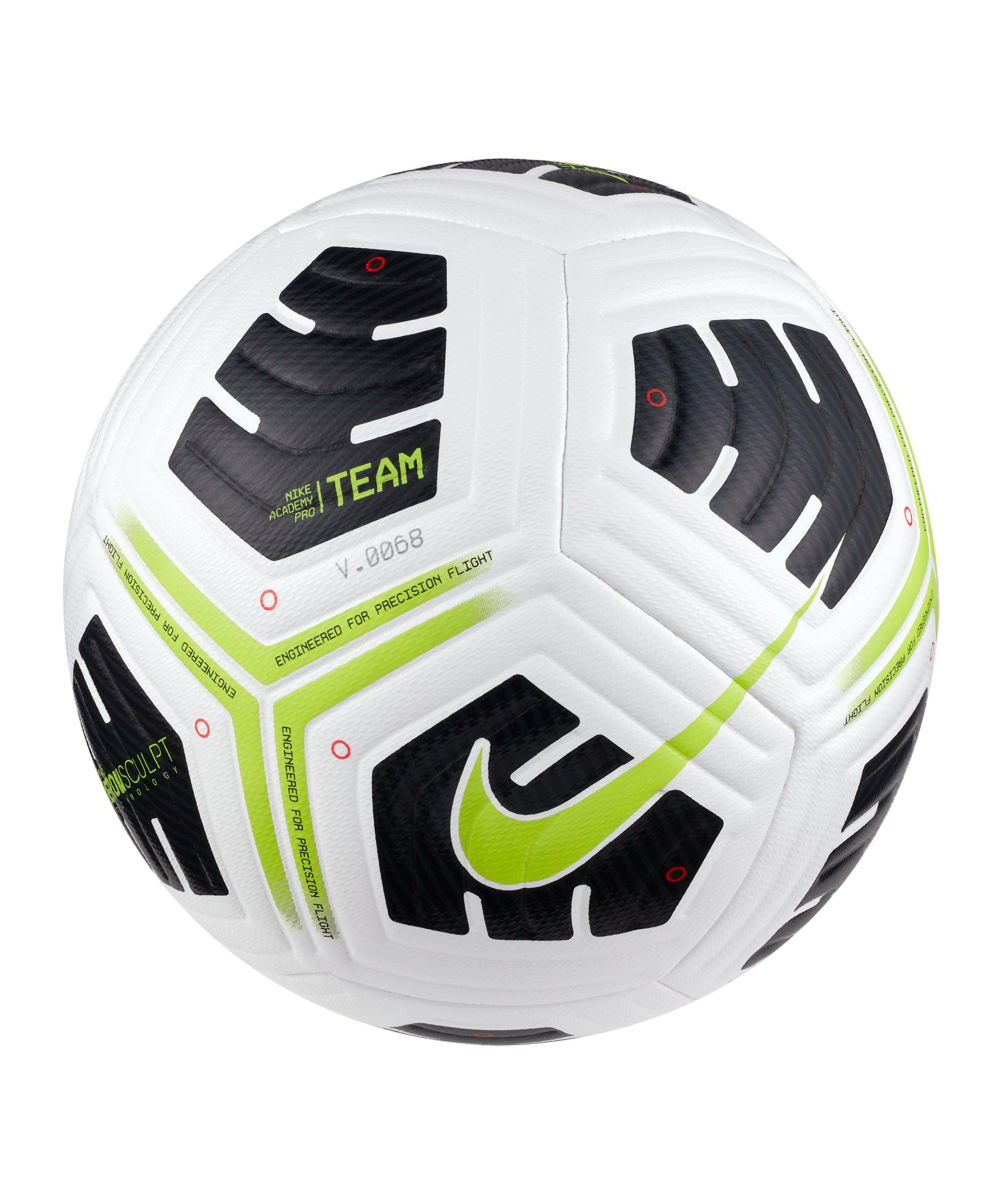 Nike Academy Pro Team Trainingsball Weiss F100 - weiss