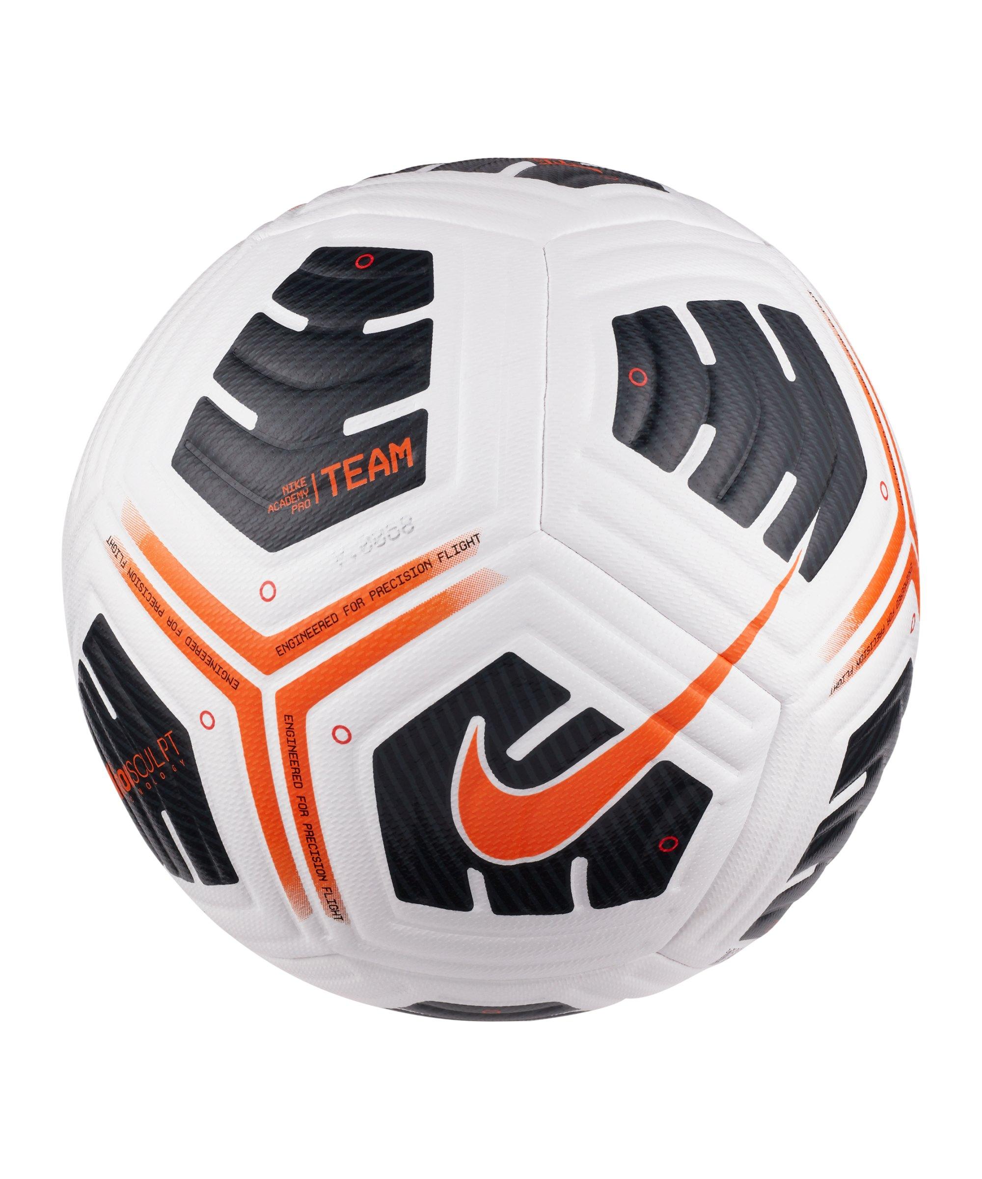 Nike Academy Pro Team Trainingsball Weiss F101 - weiss