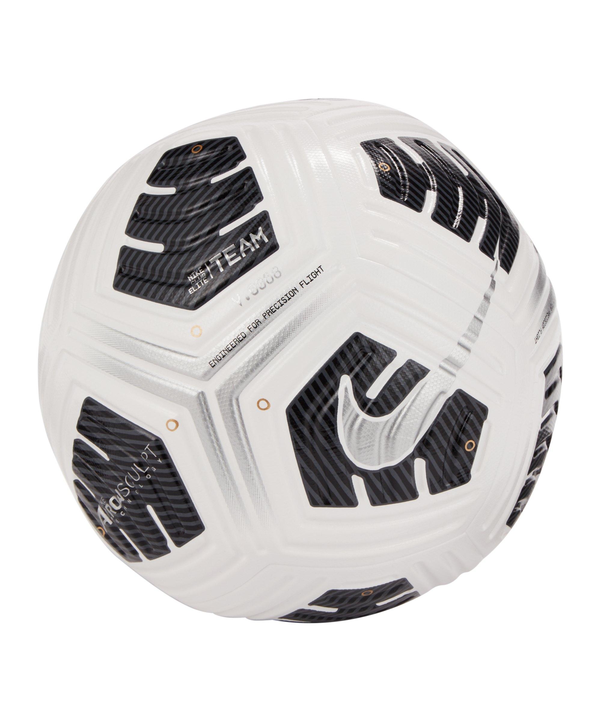 Nike Club Elite Team Trainingsball Weiss F100 - weiss