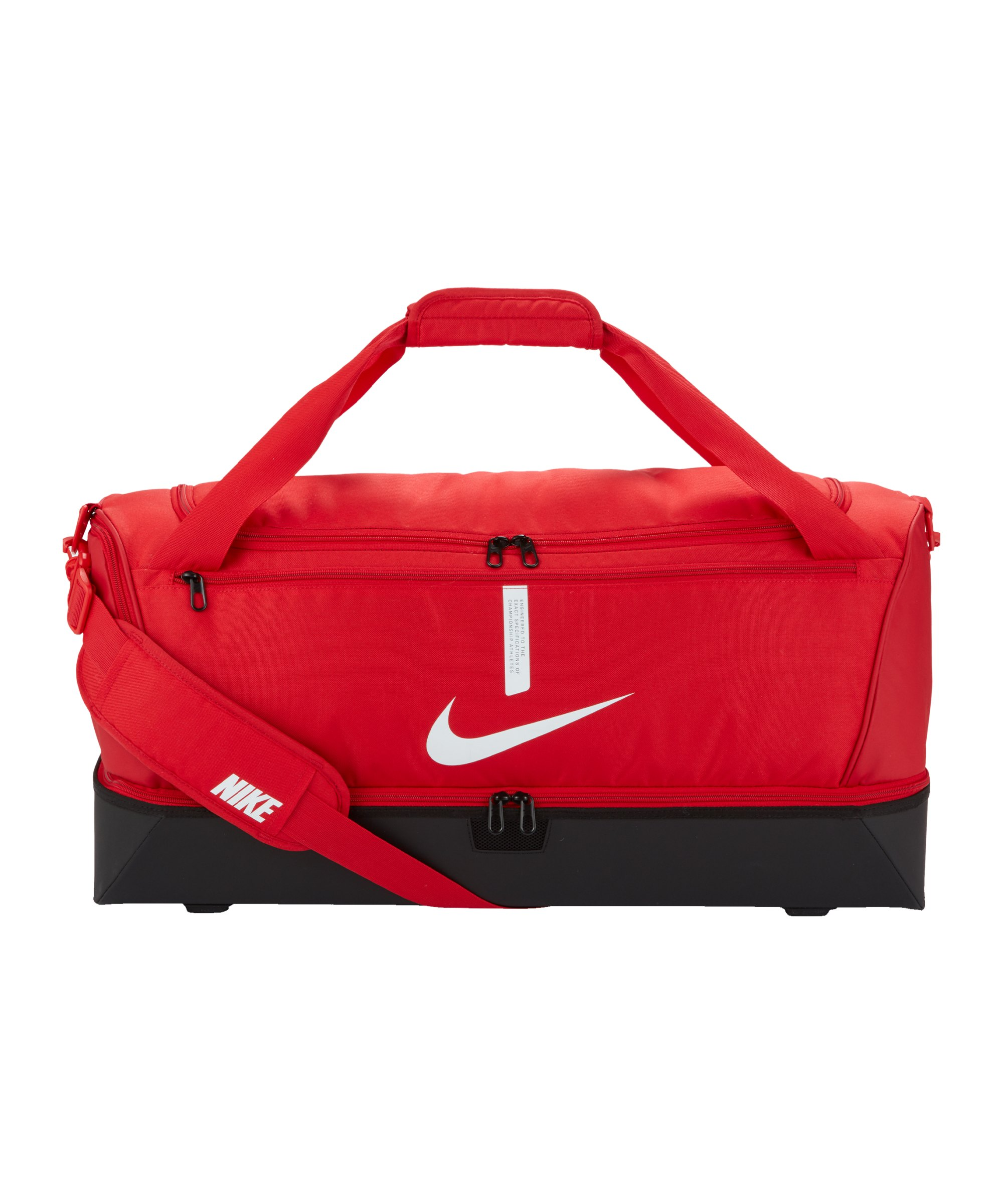 Nike Academy Team Hardcase Tasche Large Rot F657 - rot