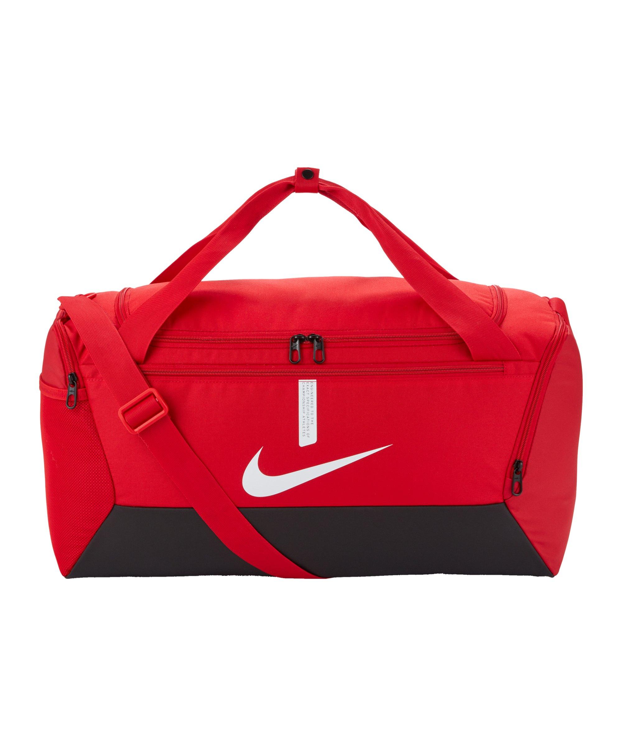 Nike Academy Team Duffel Tasche Small Rot F657 - rot