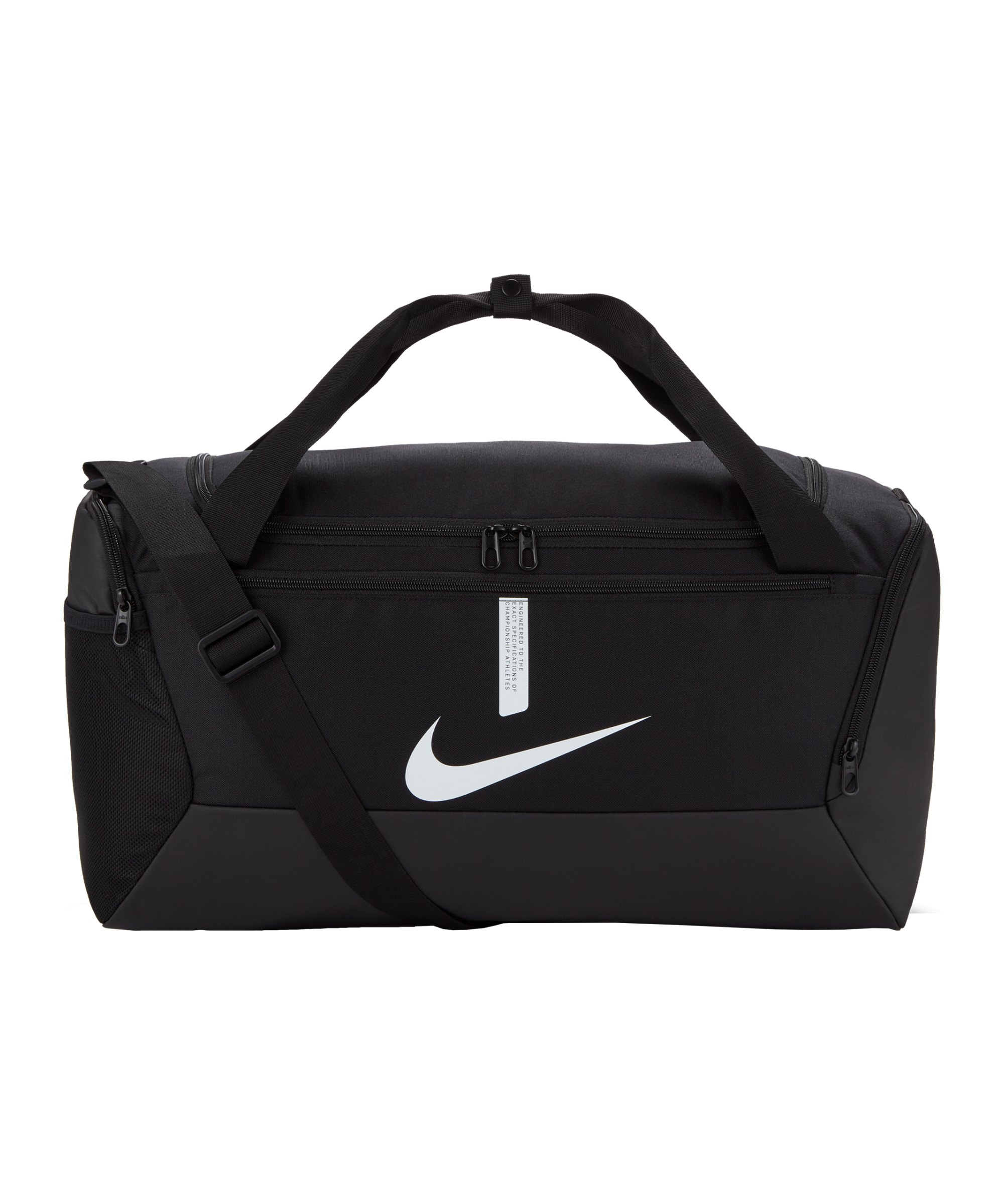 Nike Academy Team Duffel Tasche Small Schwarz F010 - schwarz