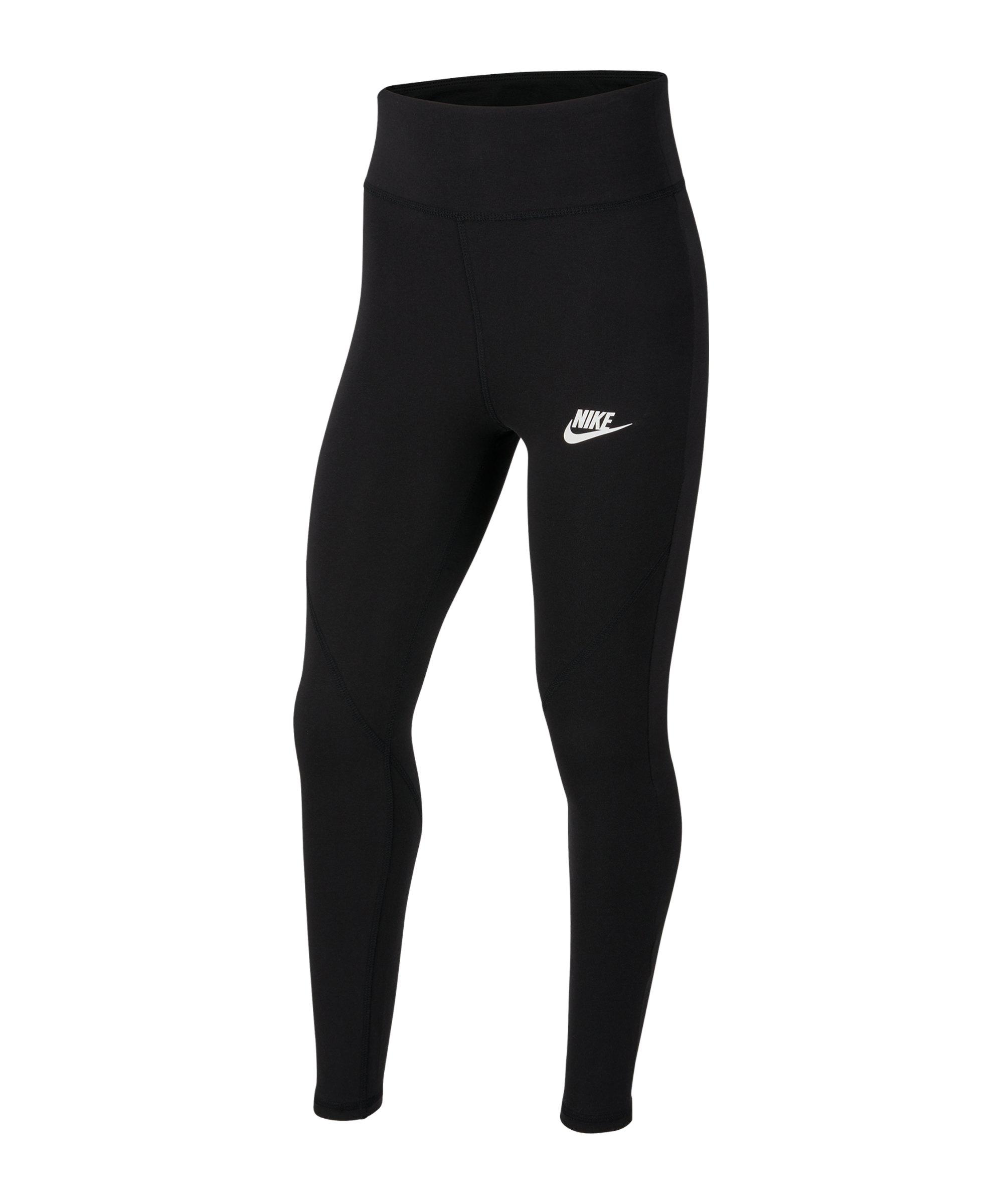 Nike Favorites GX Legging Kids Schwarz F010 - schwarz