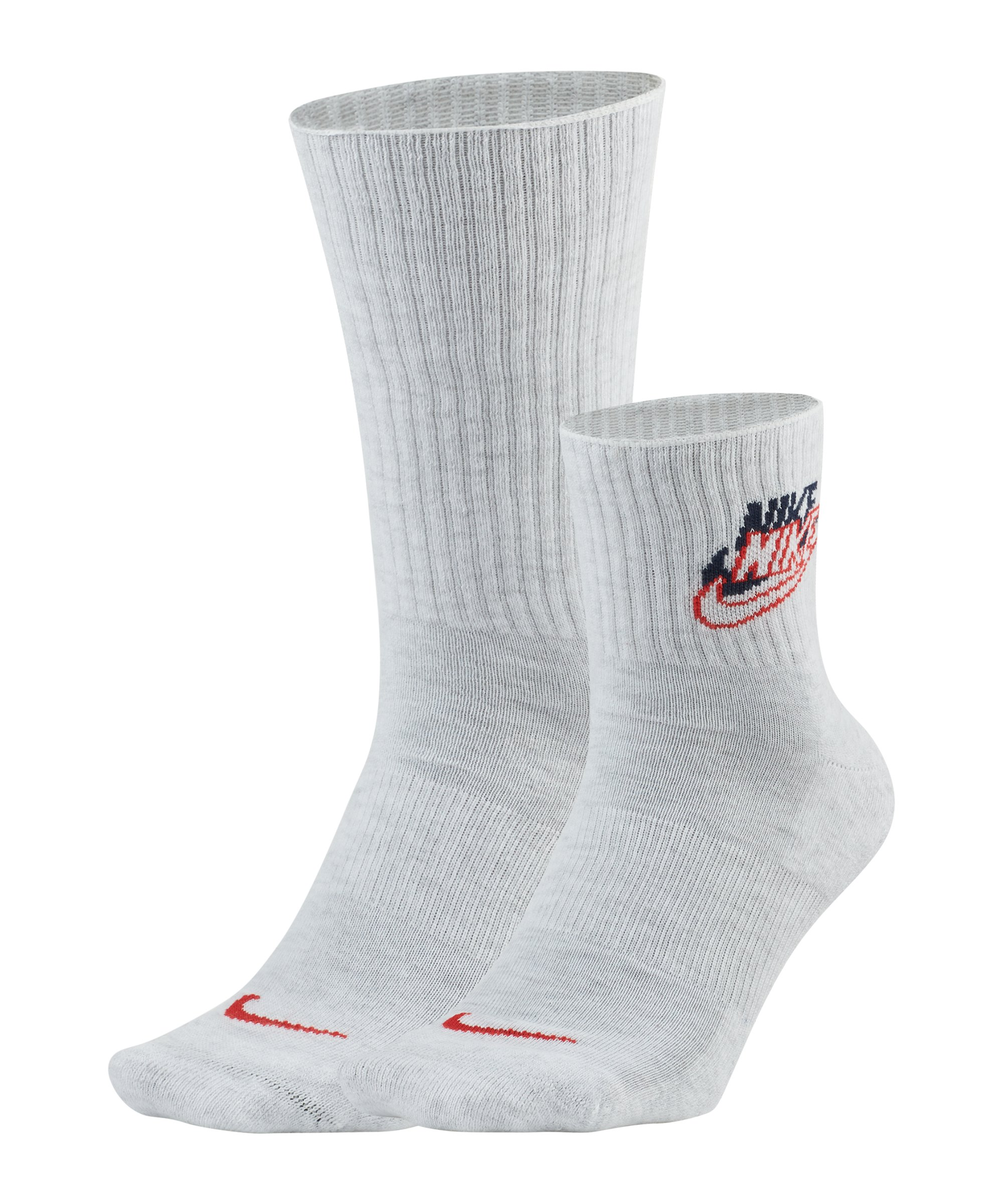 Nike Heritage Socken 2er Pack F903 - weiss