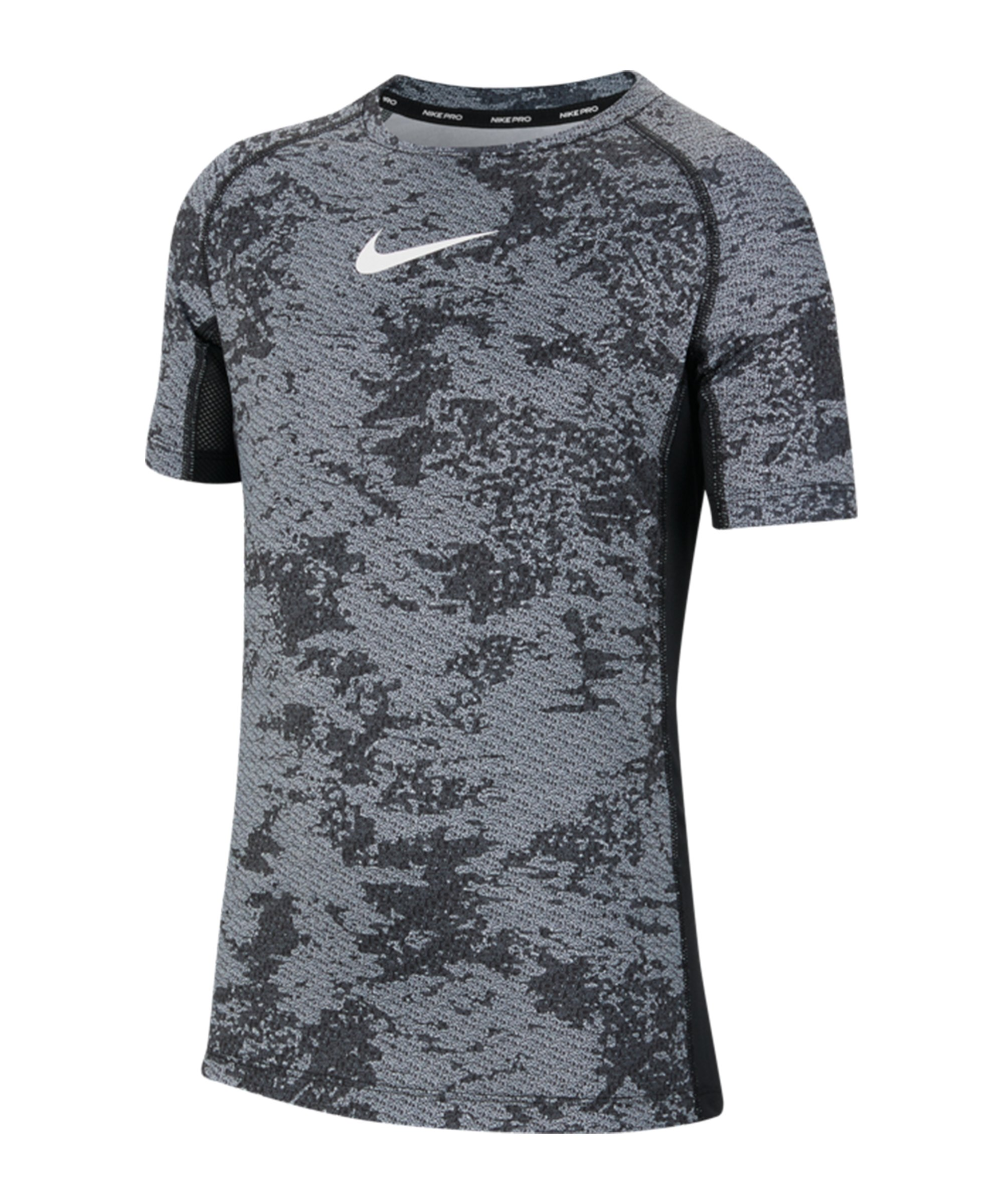 Nike Pro T-Shirt Kids Grau F010 - grau