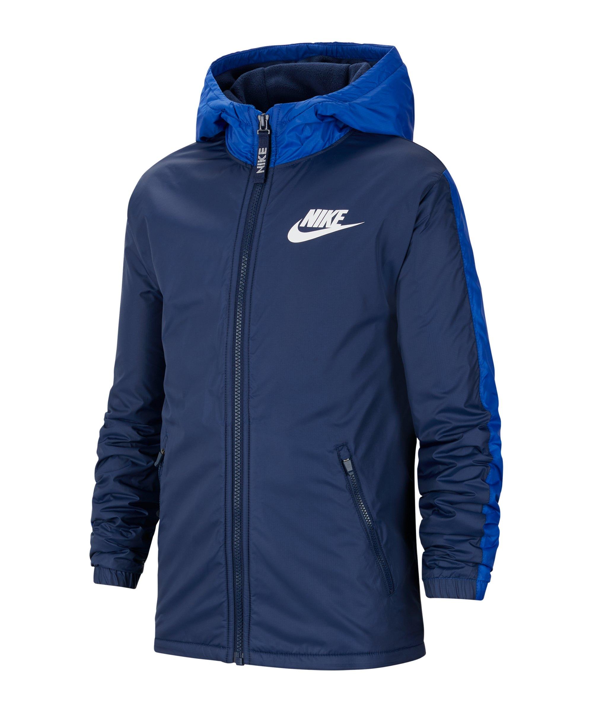 Nike Fleece Lined Jacke Kids Blau F410 - blau