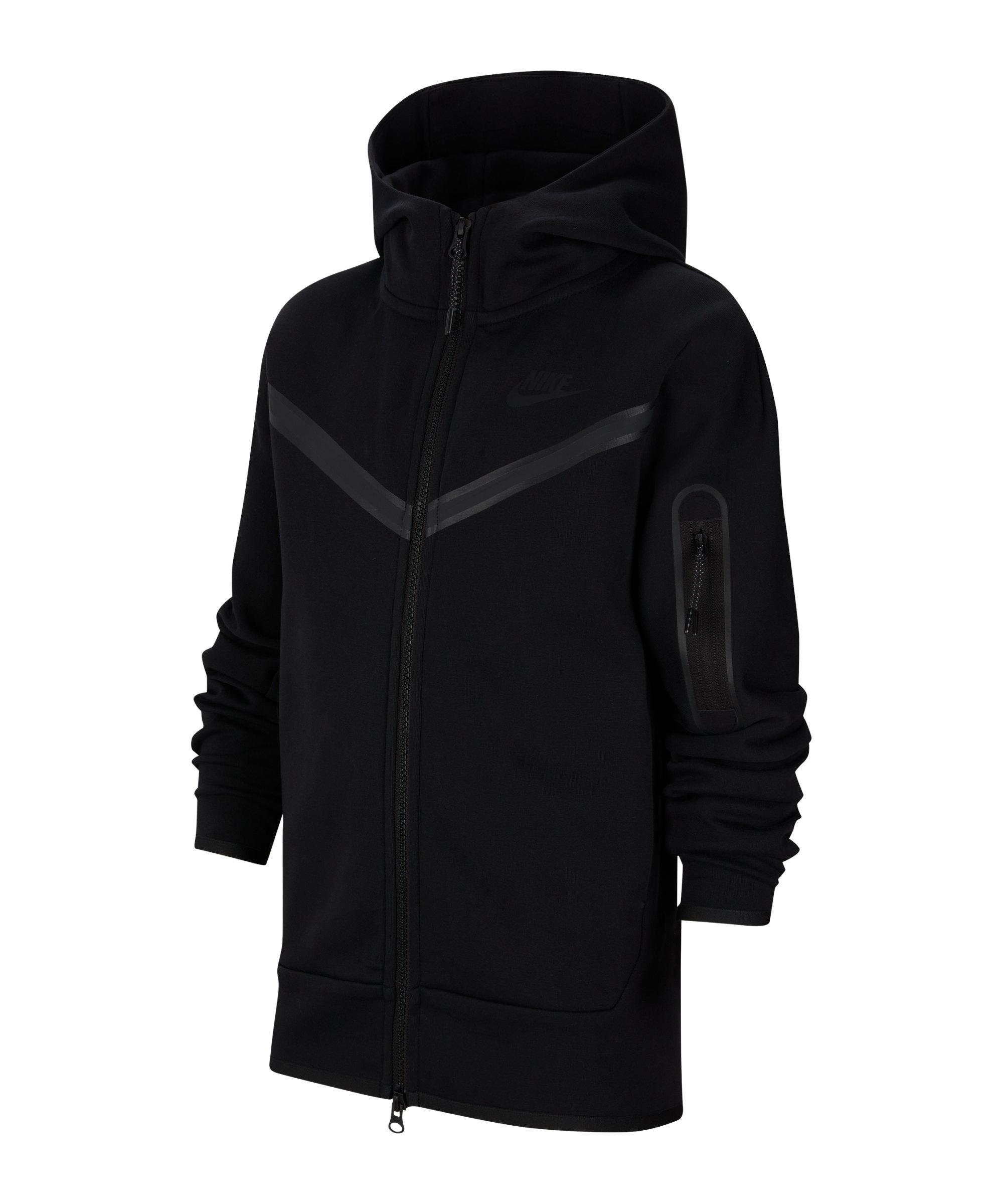 Nike Tech Fleece Jacke Kids F010 - schwarz