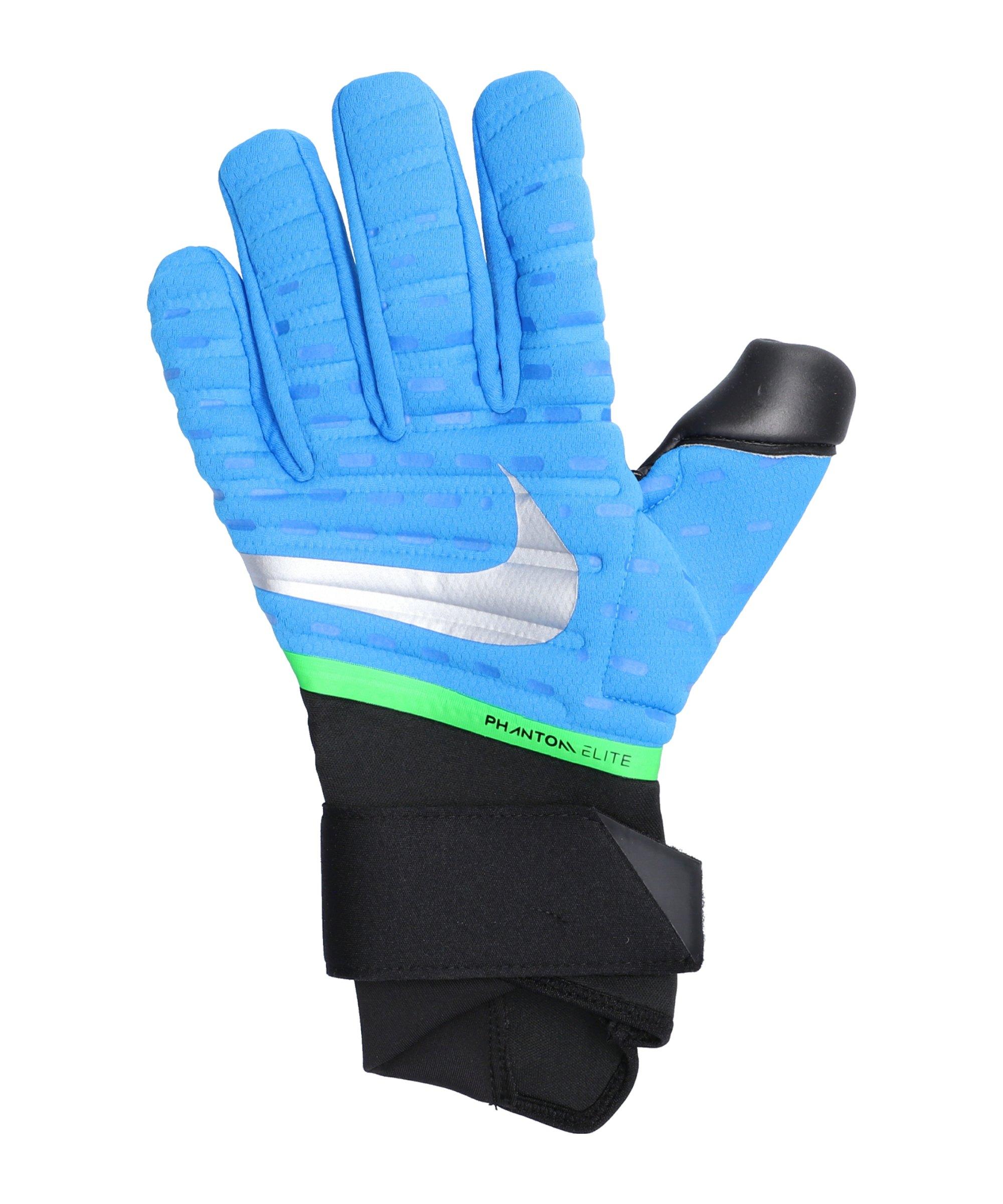 Nike Phantom Elite PROMO Torwarthandschuh F406 - blau