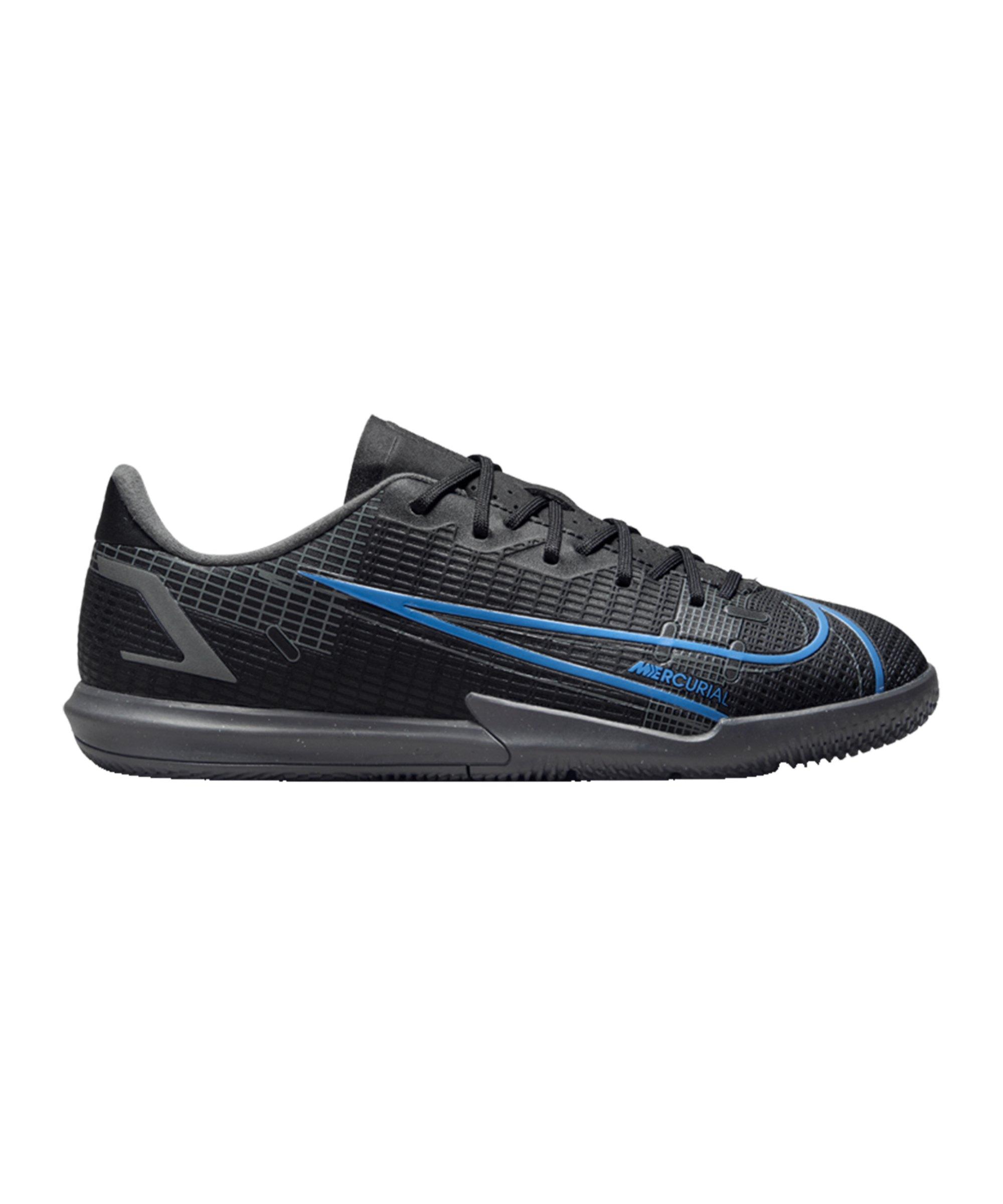 Nike Jr Mercurial Vapor XIV Renew Academy IC Kids Schwarz F004 - schwarz