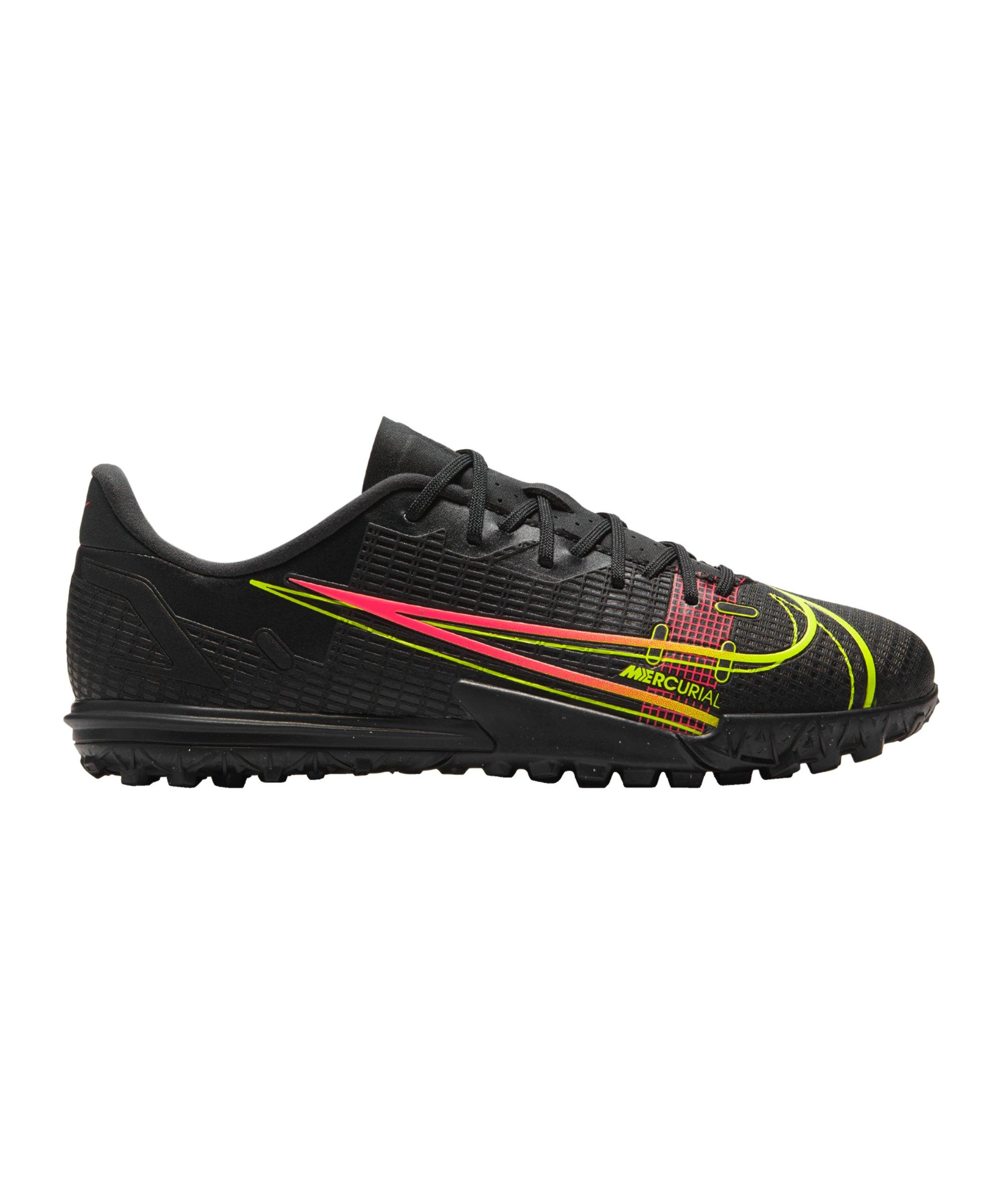 Nike Jr Mercurial Vapor XIV Black X Prism Academy TF Kids Schwarz F090 - schwarz