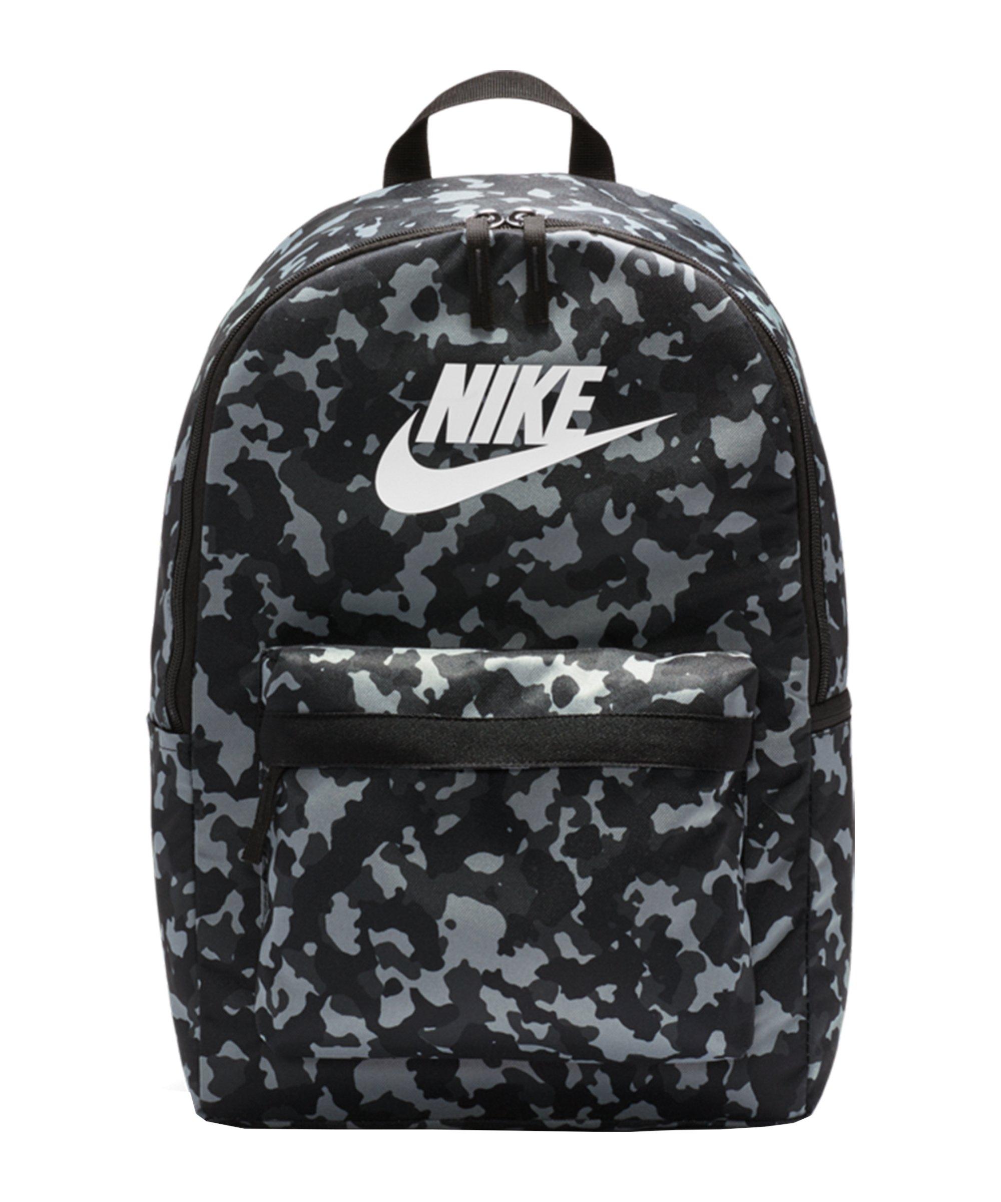 Nike Hertiage AOP Rucksack Schwarz F010 - schwarz