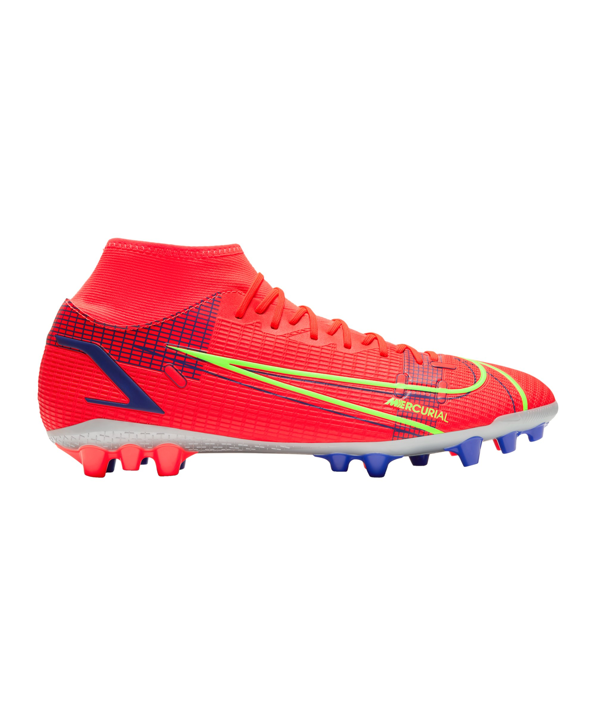 Nike Mercurial Superfly VIII Spectrum Academy AG Rot F600 - rot