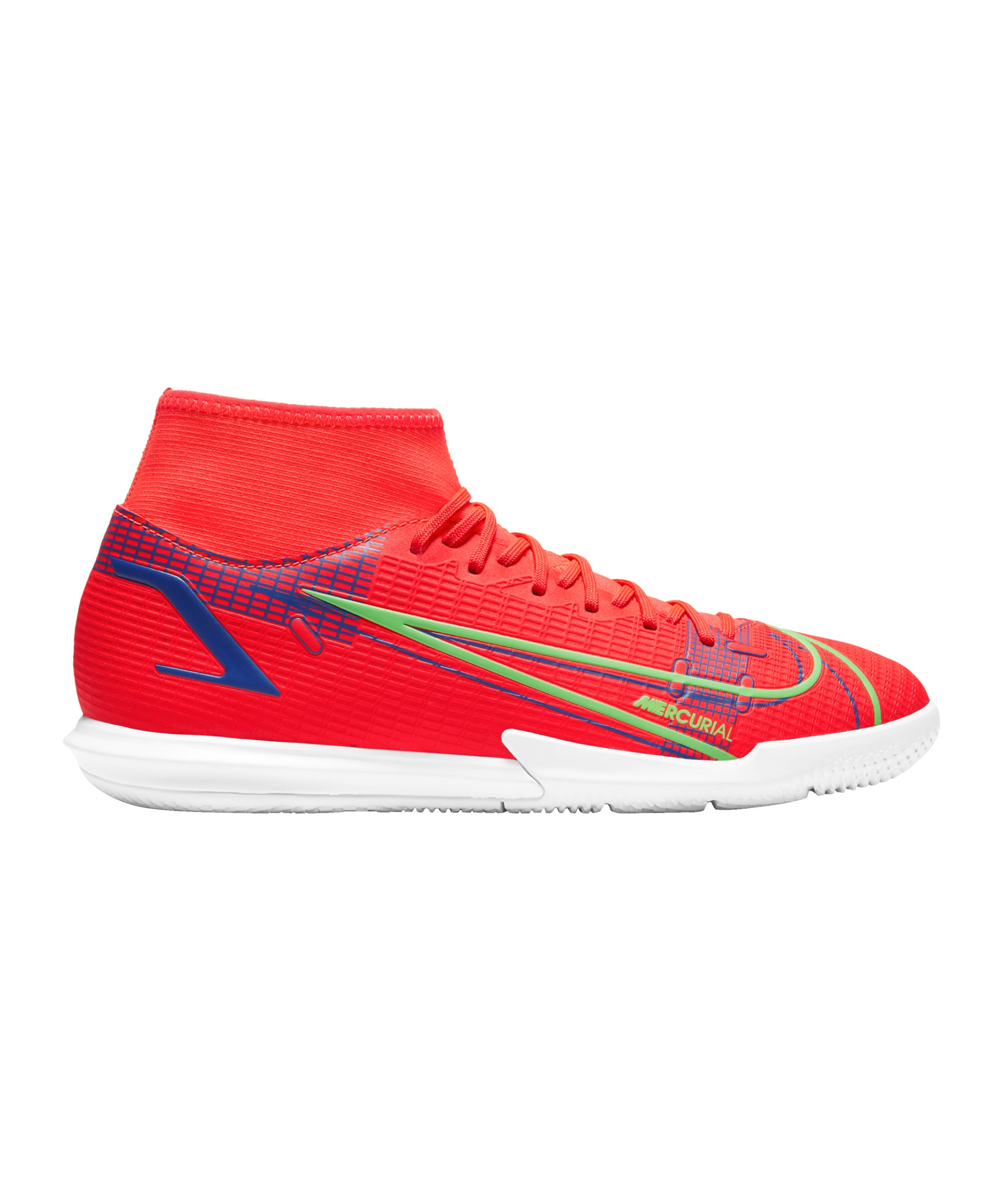 Nike Mercurial Superfly VIII Spectrum Academy IC Rot F600 - rot