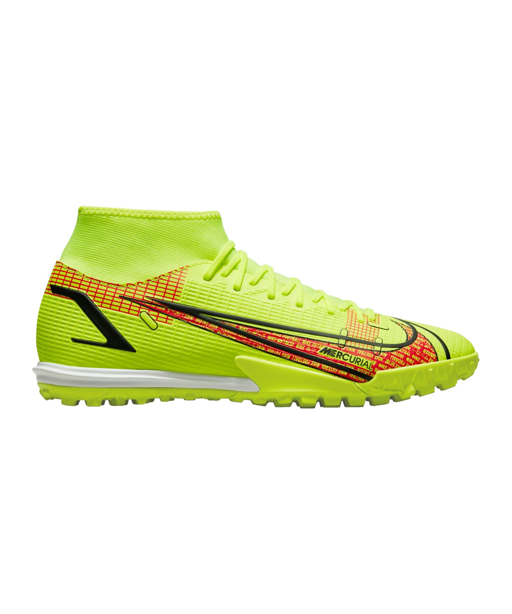 Nike Mercurial Superfly VIII Motivation Academy TF Gelb F760 - gelb