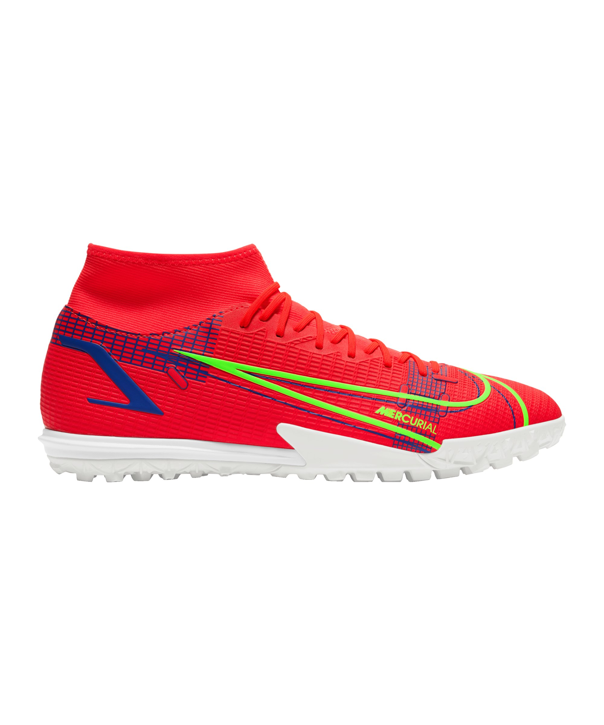 Nike Mercurial Superfly VIII Spectrum Academy TF Rot F600 - rot